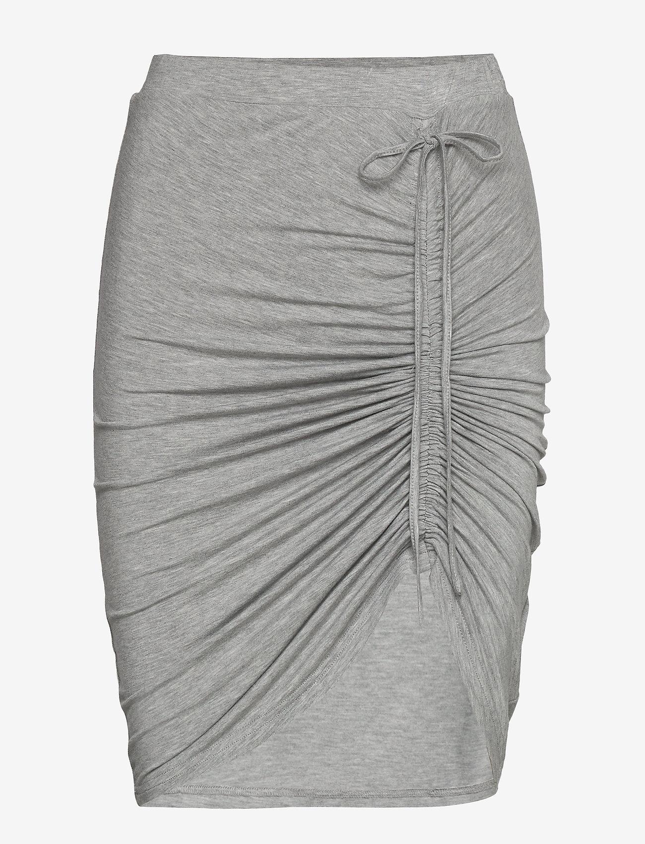 Rosemunde - Skirt - midi - light grey melange - 0