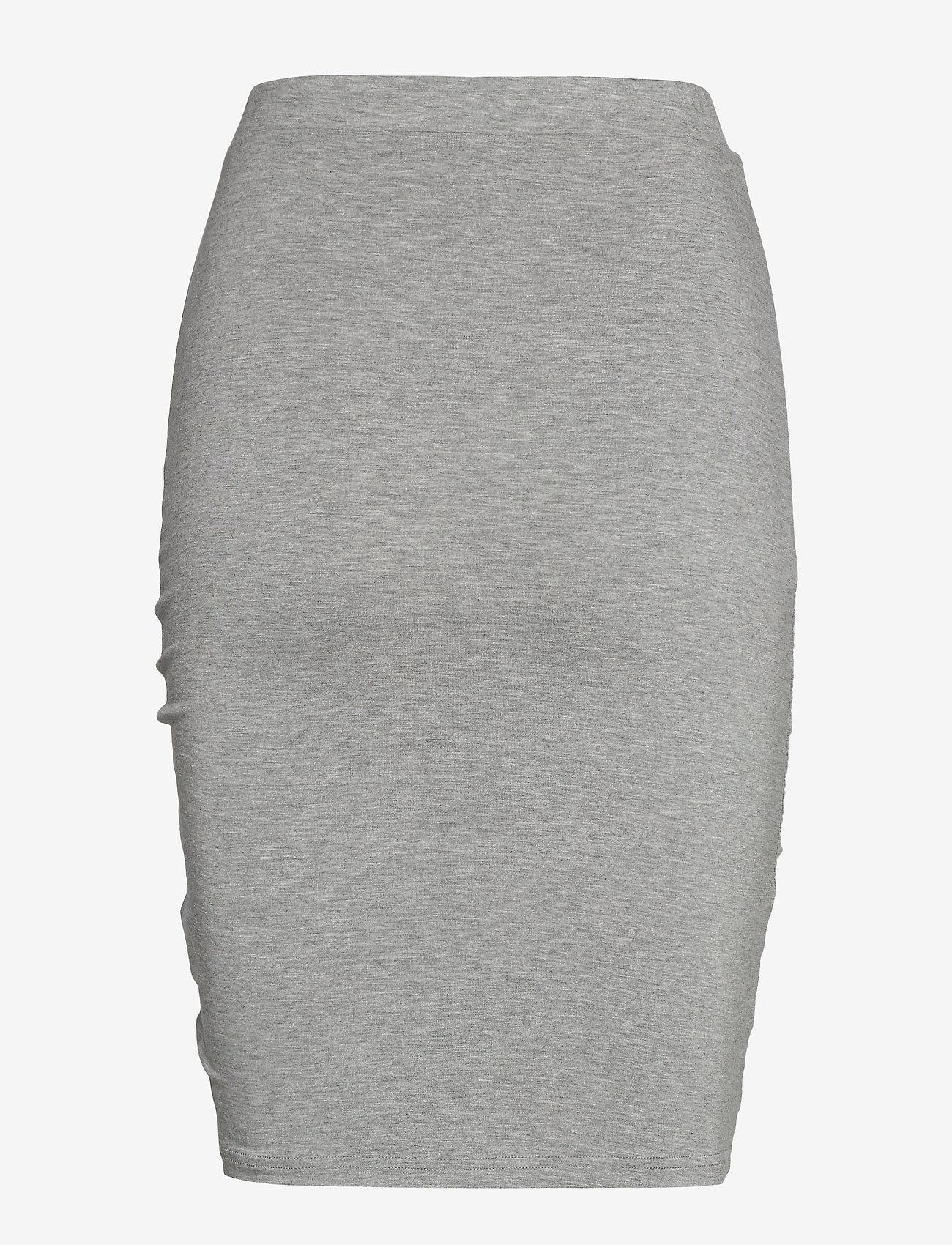 Rosemunde - Skirt - midi - light grey melange - 1