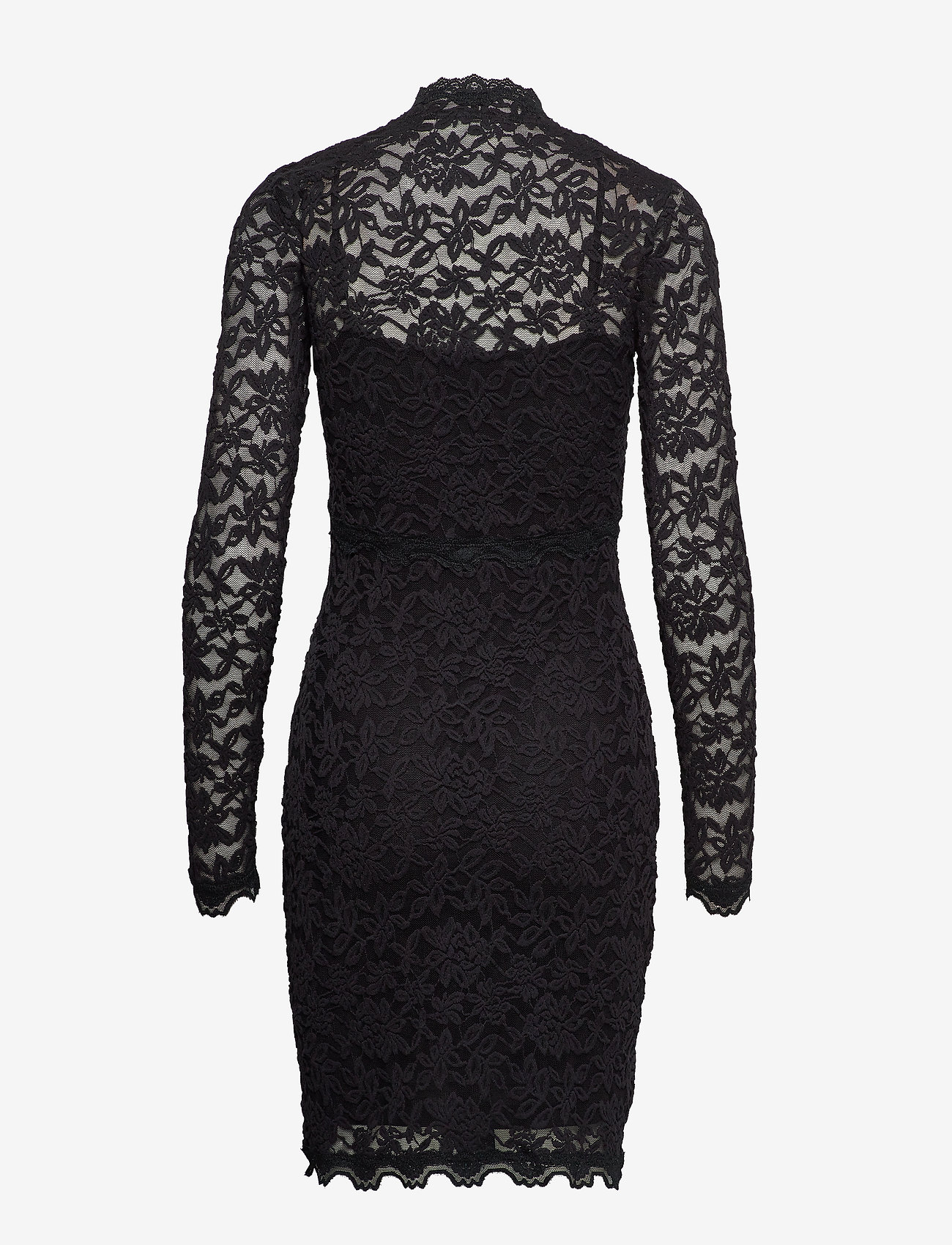 Rosemunde Dress Ls - Klänningar Black