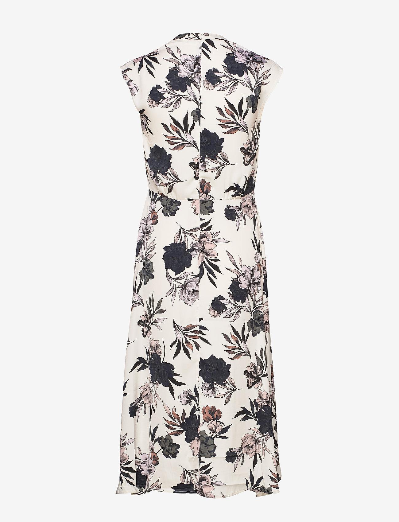 Rosemunde Dress - Klänningar Ivory Spring Blossom Print