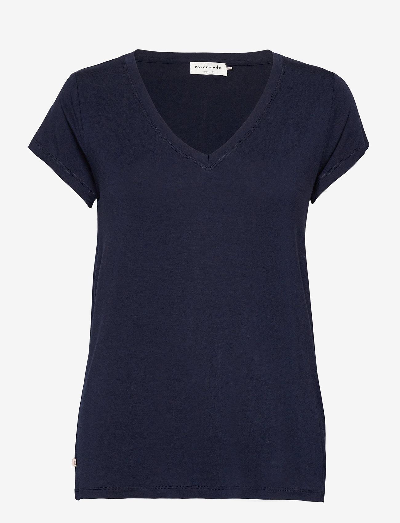 Rosemunde - T-shirt ss - t-shirts - navy - 0