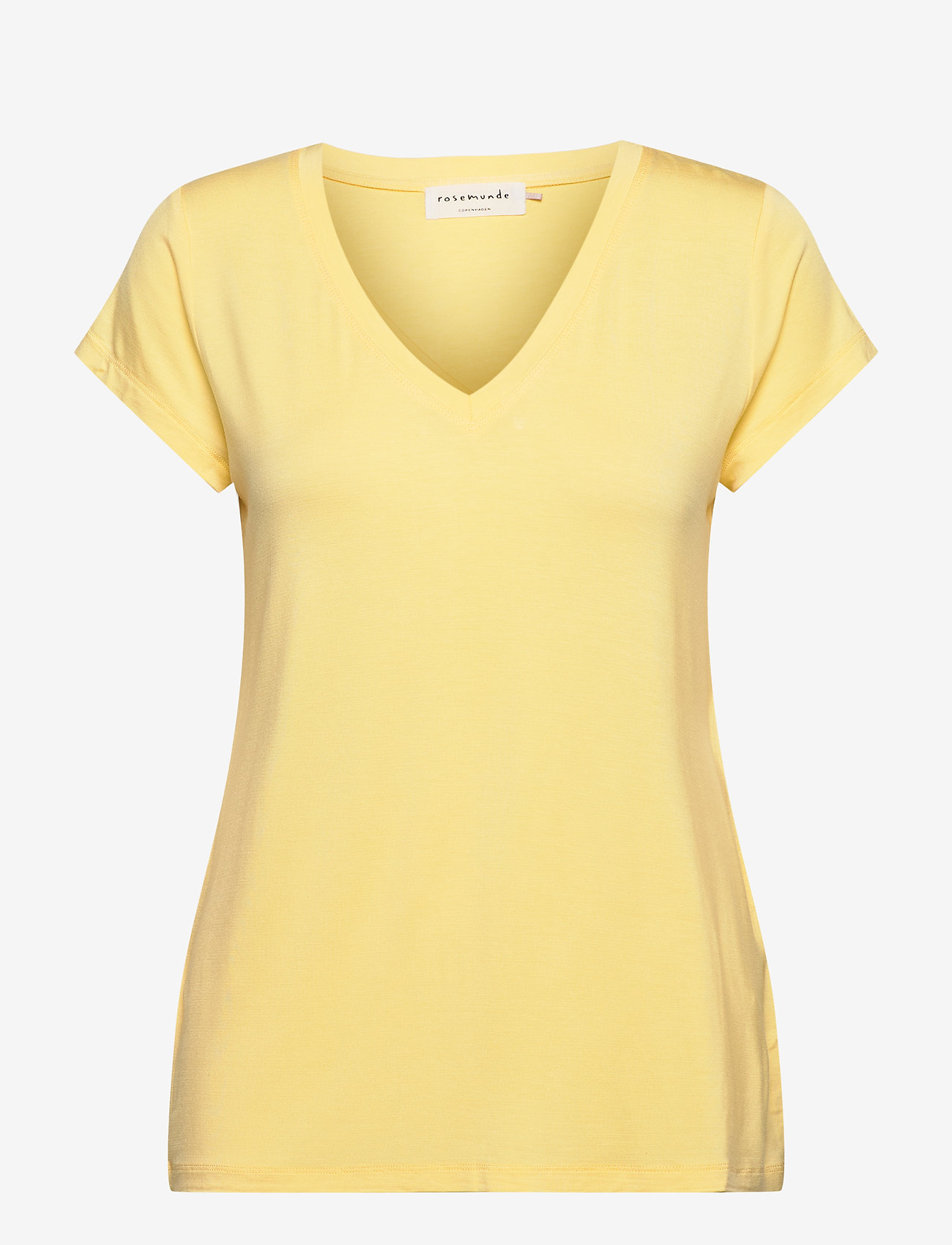 Rosemunde - T-shirt ss - t-shirts - vanilla yellow - 0