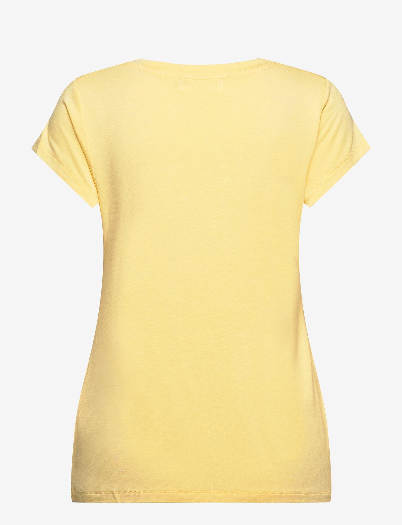 Rosemunde - T-shirt ss - t-shirts - vanilla yellow - 1