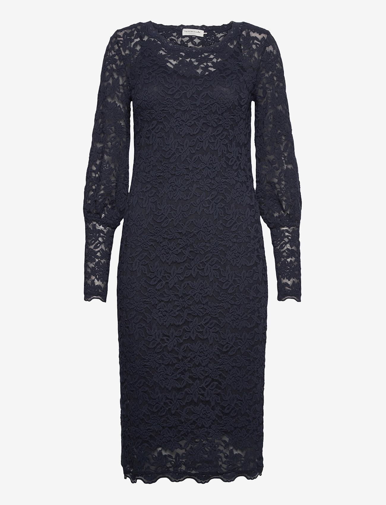 Rosemunde - Dress ls - cocktail-kjoler - blueberry - 0