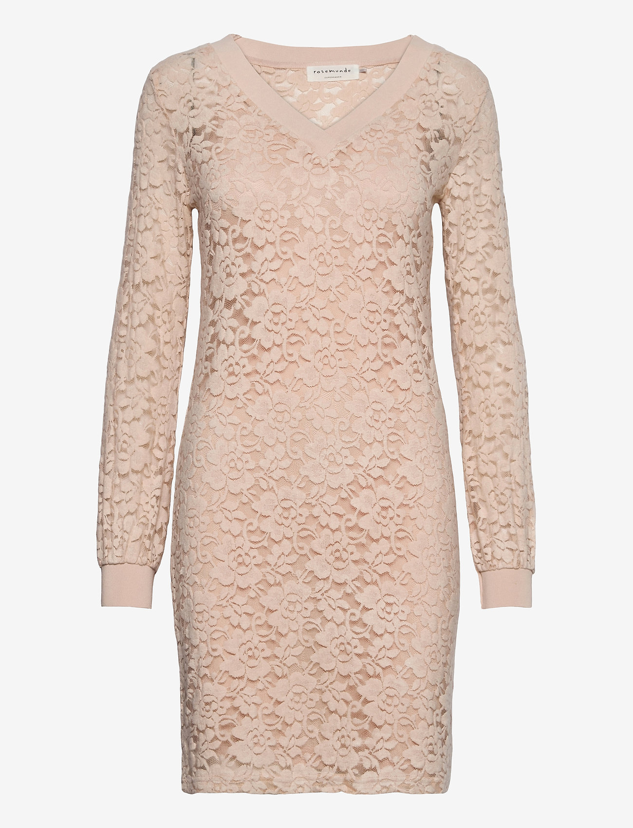 Rosemunde - Dress ls - bodycon-kjoler - warm pearl - 0