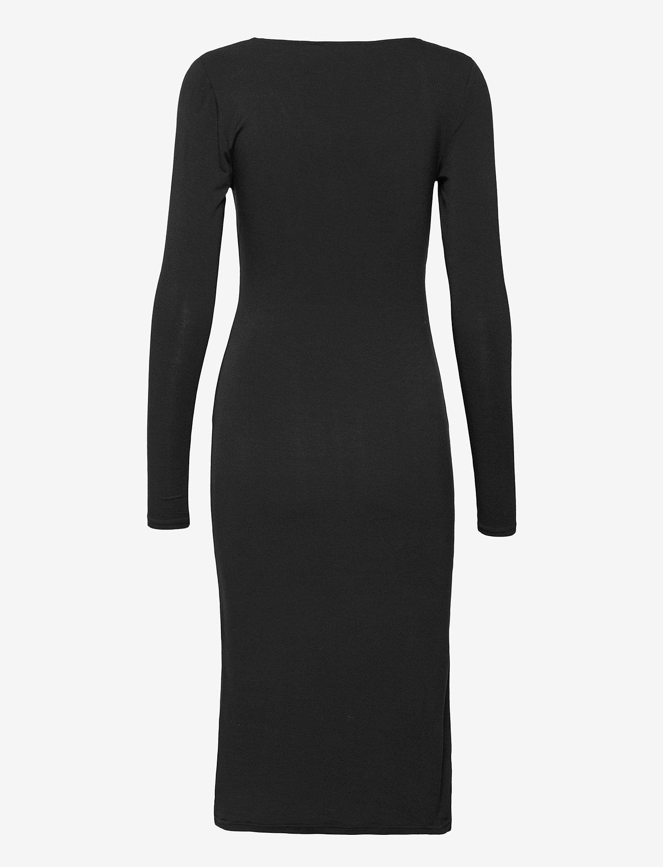 Rosemunde - Dress ls - vardagsklänningar - black - 1