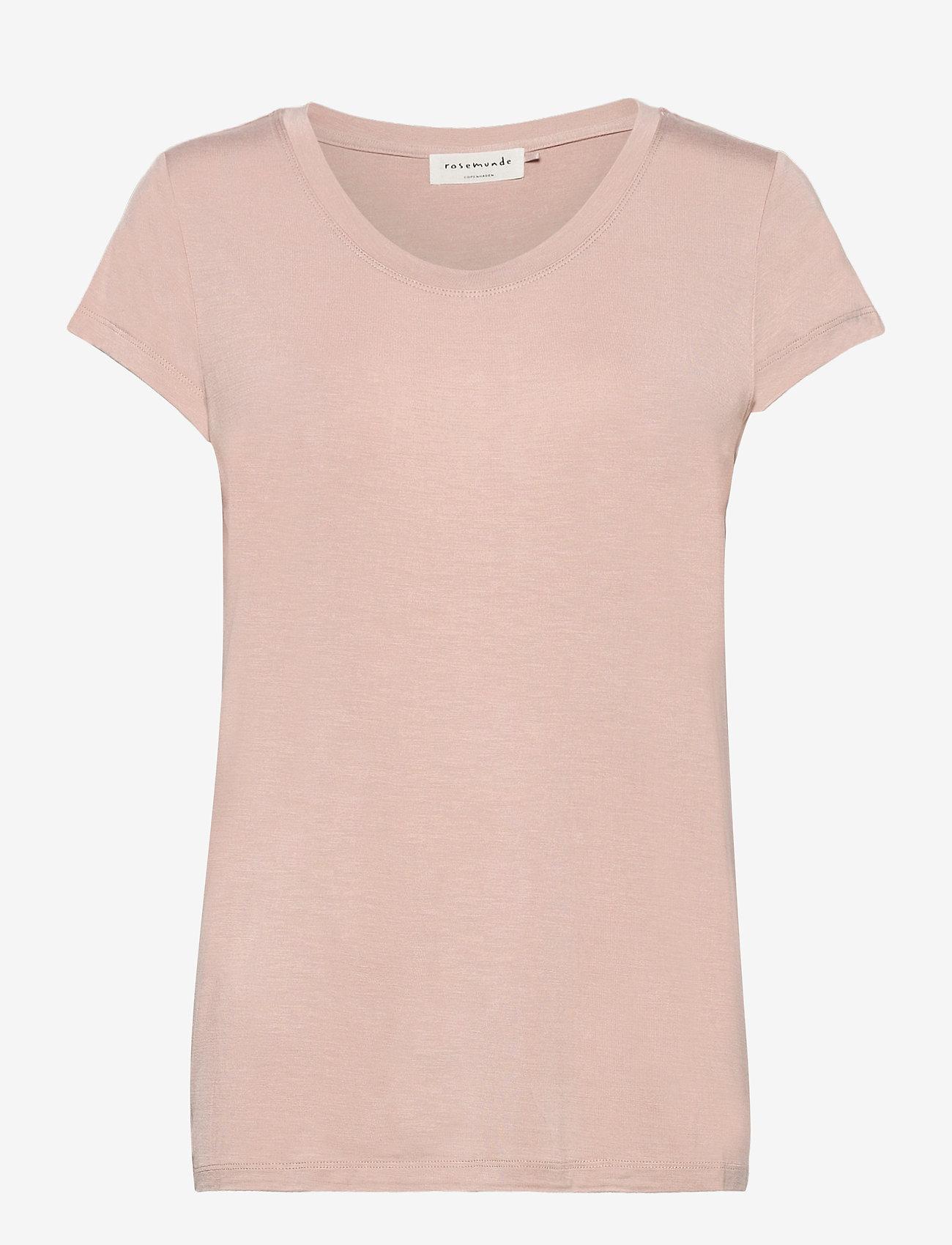 Rosemunde - T-shirt ss - t-shirts - vintage powder - 0