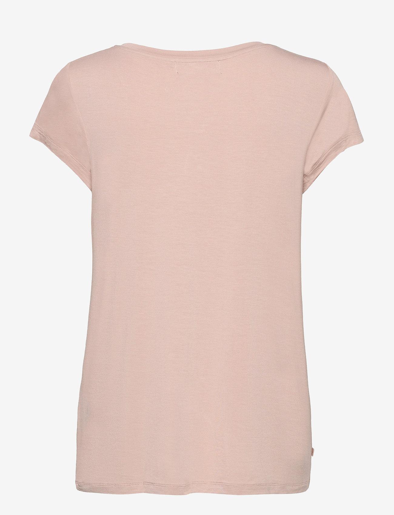 Rosemunde - T-shirt ss - t-shirts - vintage powder - 1