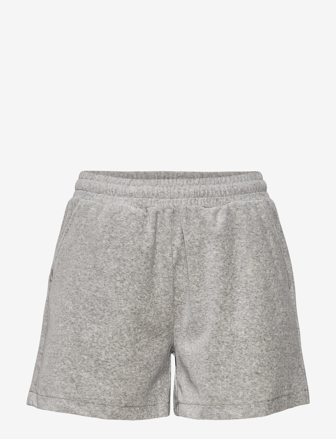 Rosemunde - Shorts - casual shorts - light grey melange - 0