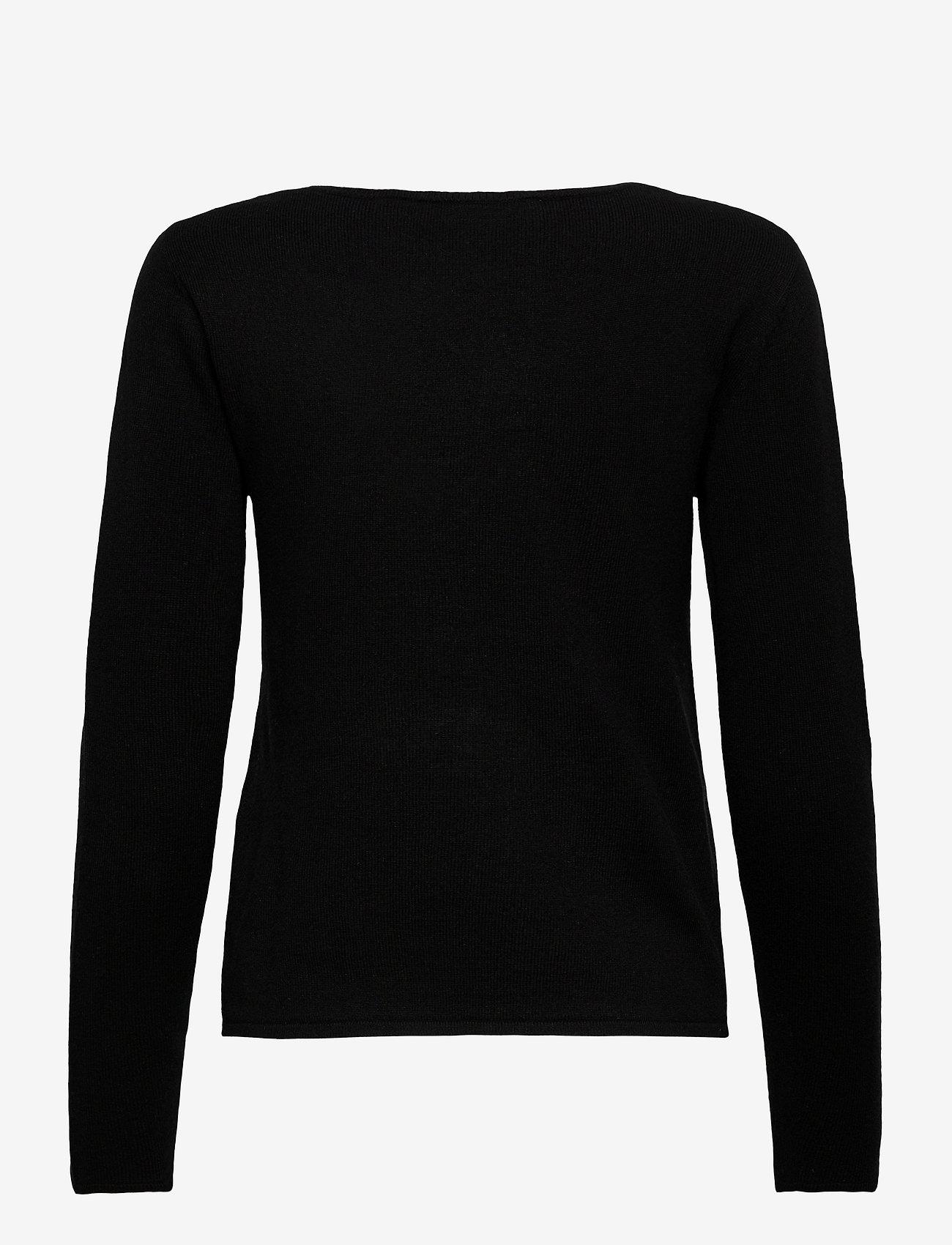 Rosemunde - Pullover ls - tröjor - black - 1