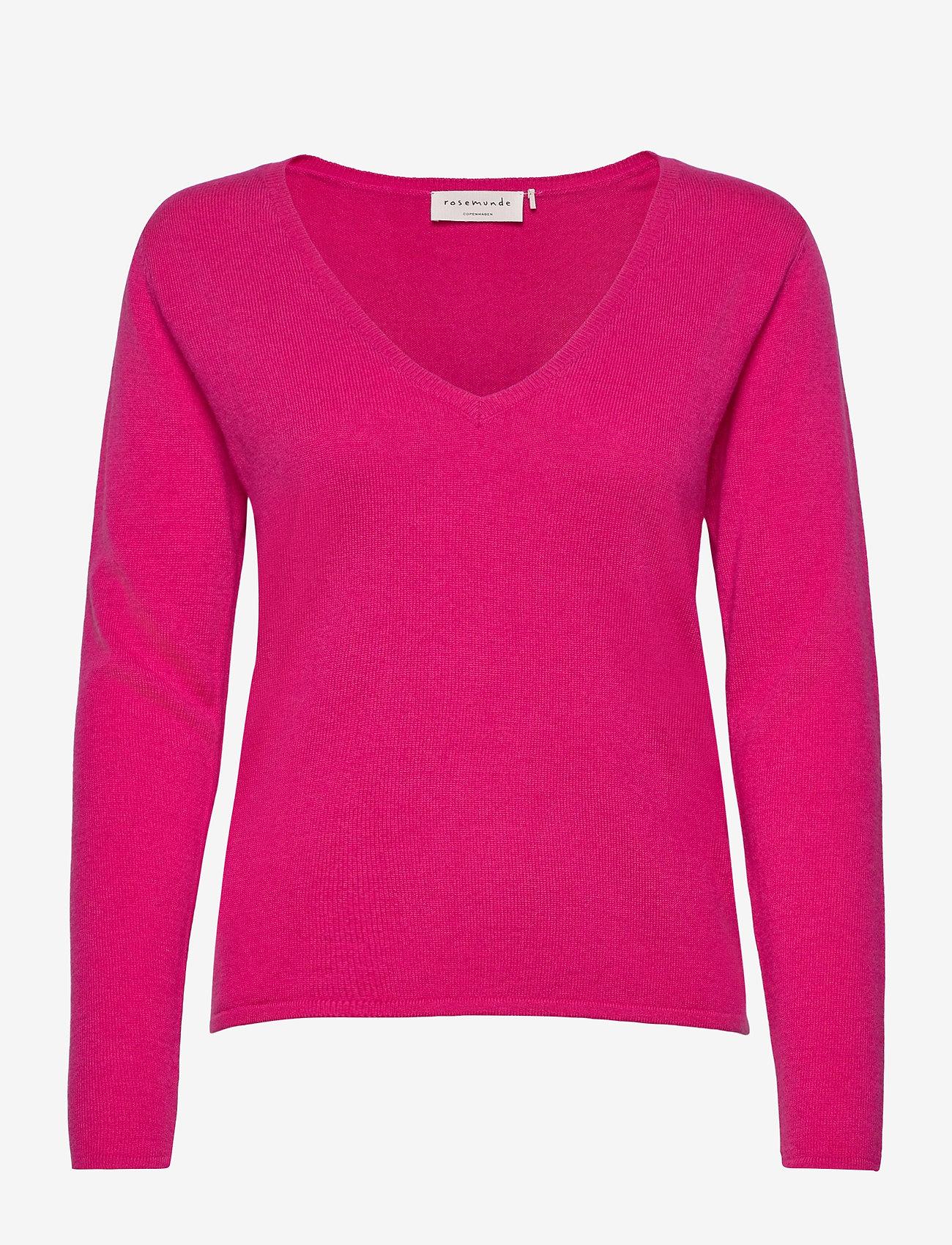 Rosemunde - Pullover ls - tröjor - very berry - 0