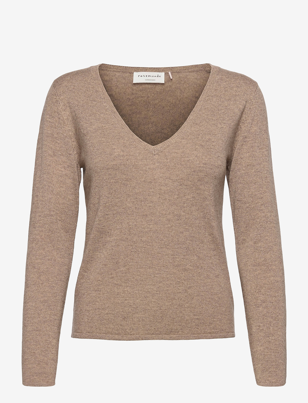 Rosemunde - Pullover ls - tröjor - walnut melange - 0