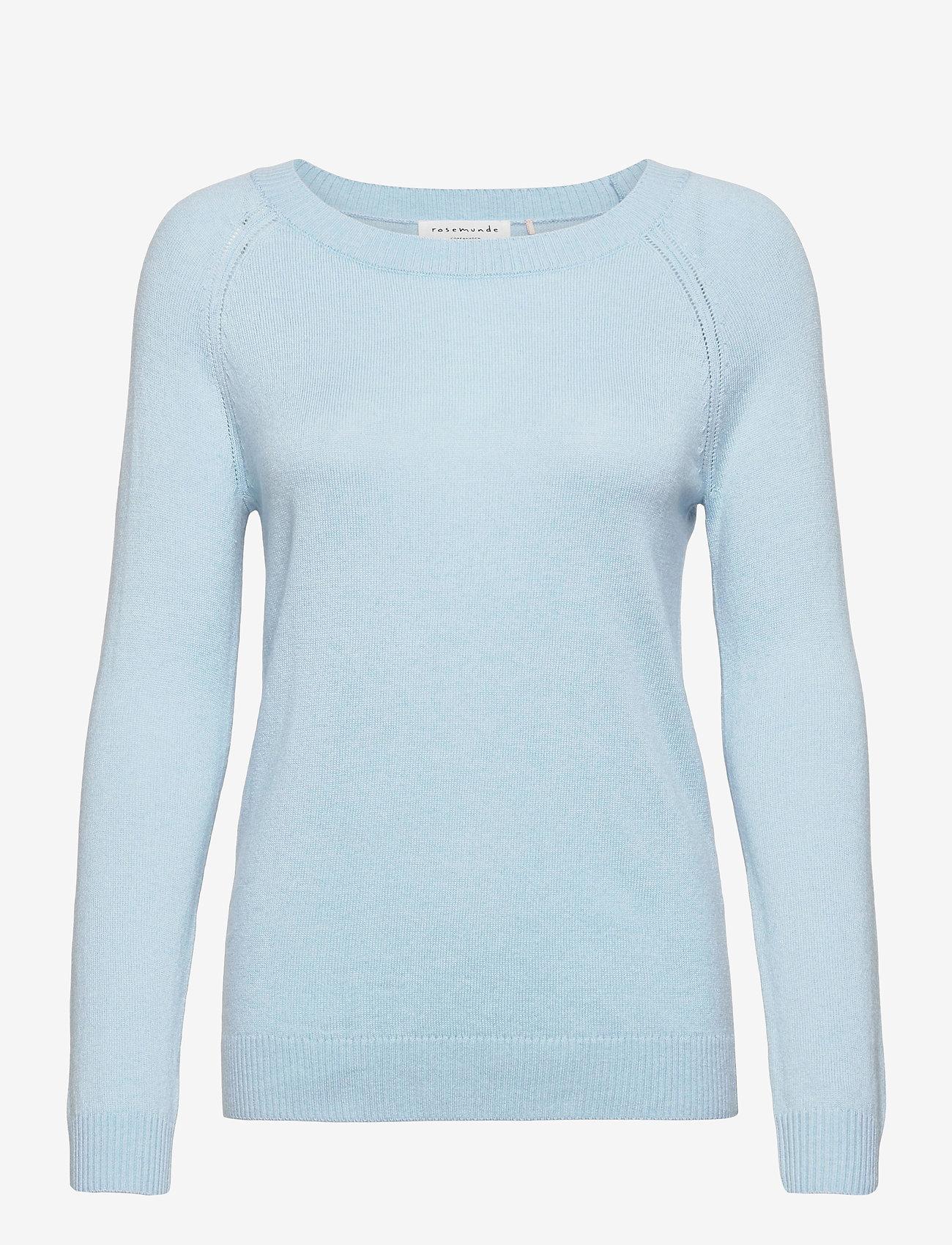 Rosemunde - Pullover ls - tröjor - dream blue - 0