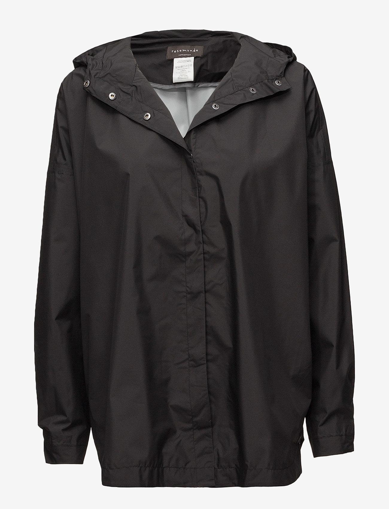 Rosemunde - Cape - manteaux de pluie - black - 0