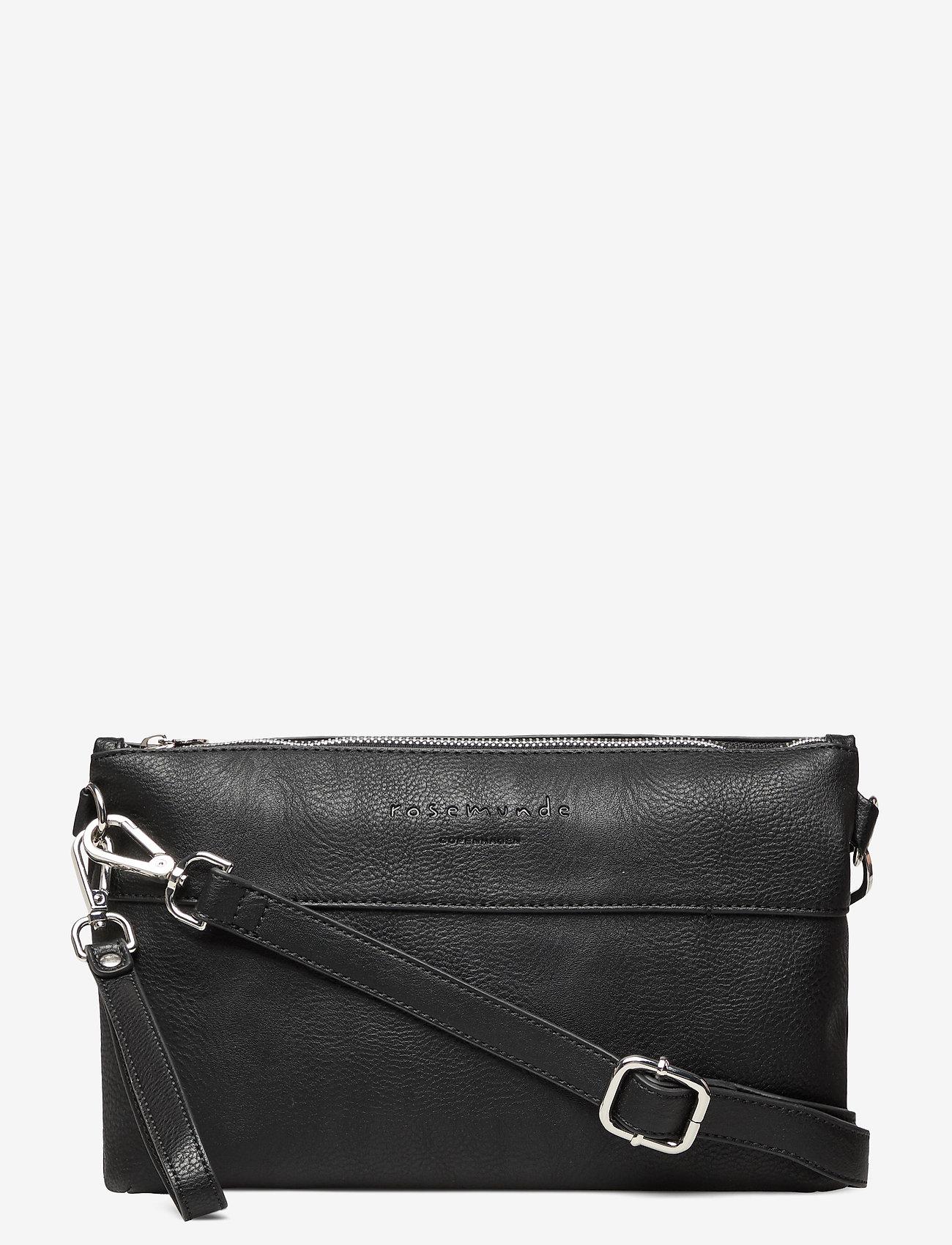 Rosemunde - Clutch - skuldervesker - black silver - 0