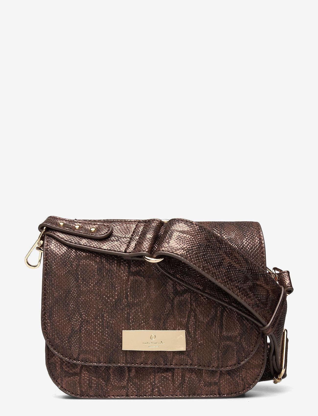 Bag Small (Brown Snake Foil Gold) (699 kr) Rosemunde