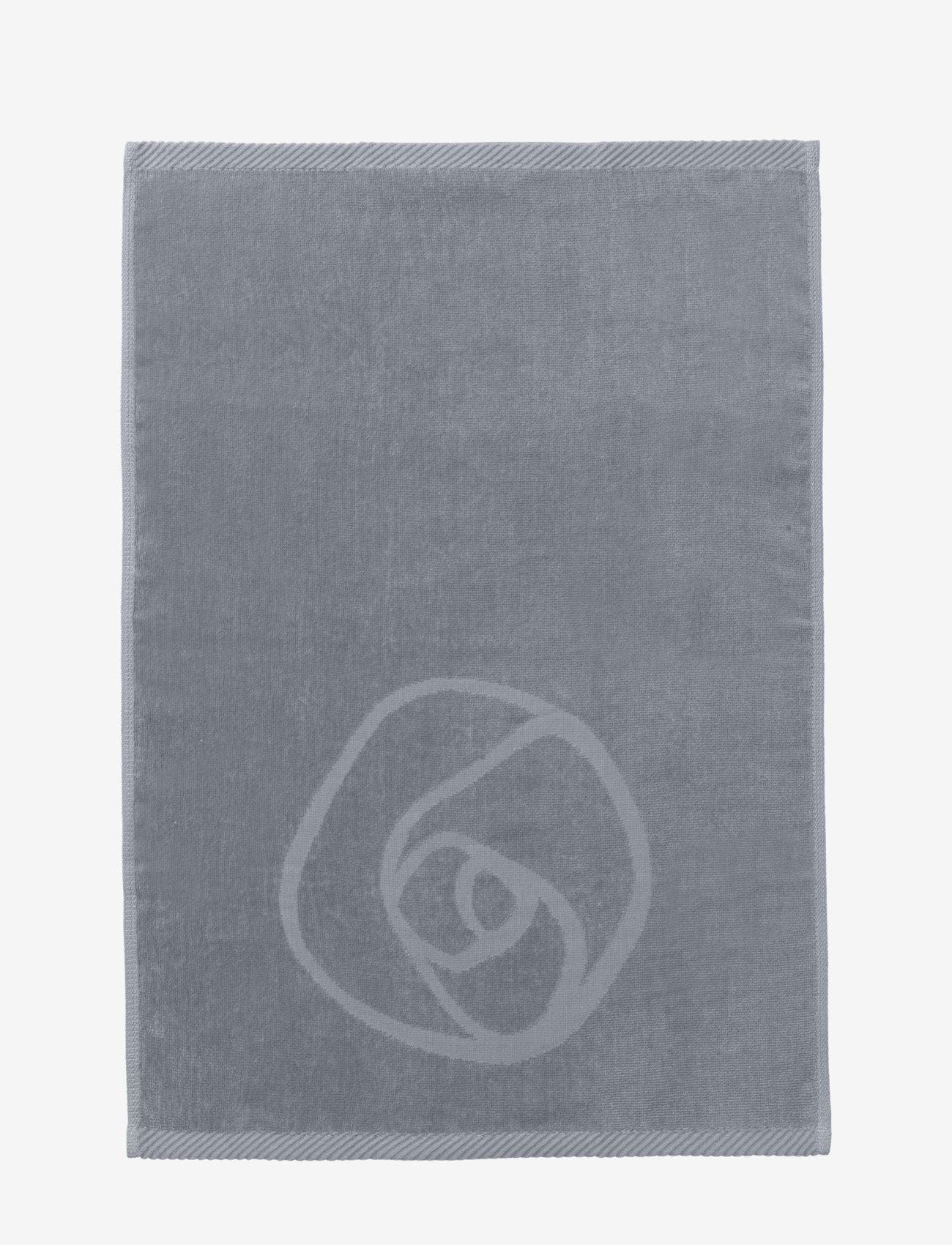 Rosemunde - towel 45x65cm - ręczniki kąpielowe - charcoal grey - 1