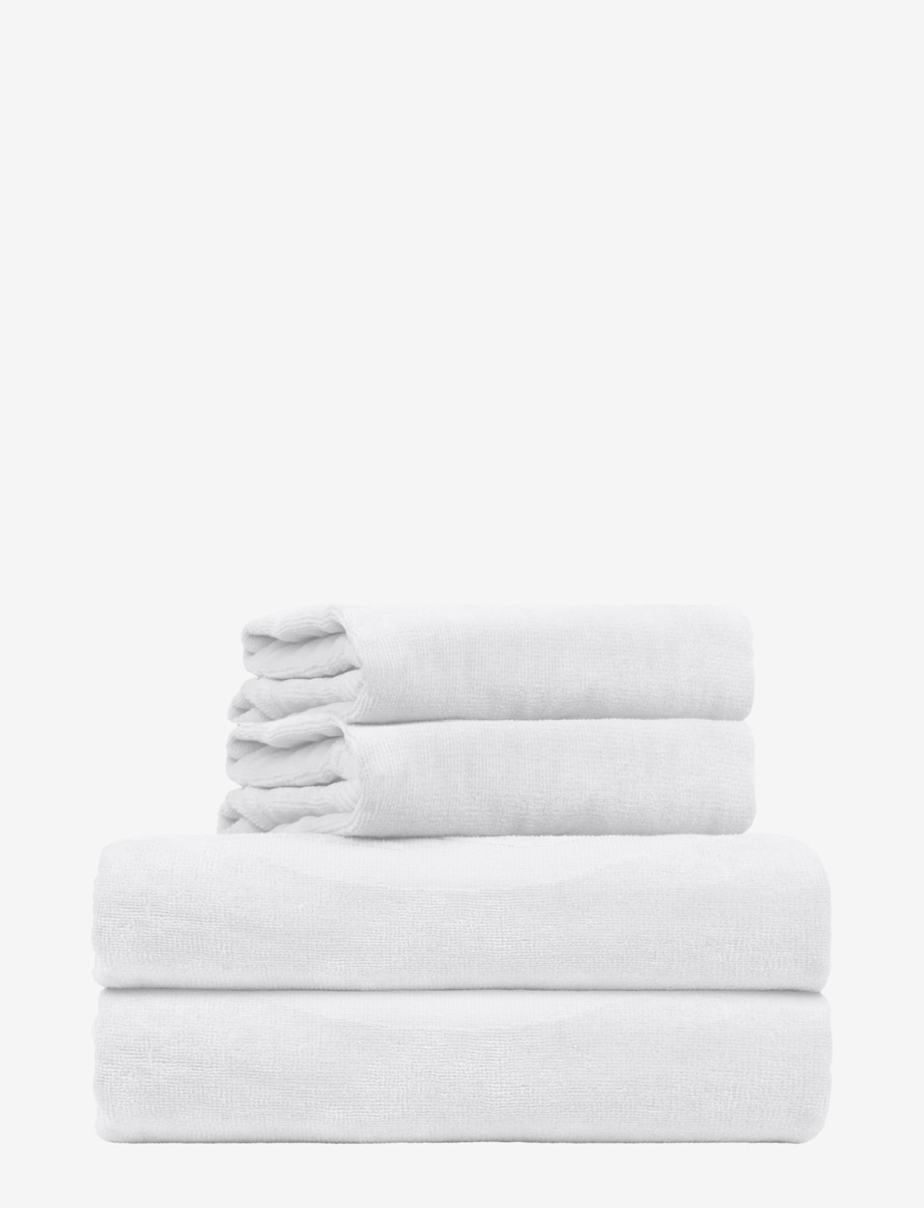 Rosemunde - towel 45x65cm - hand towels & bath towels - new white - 0