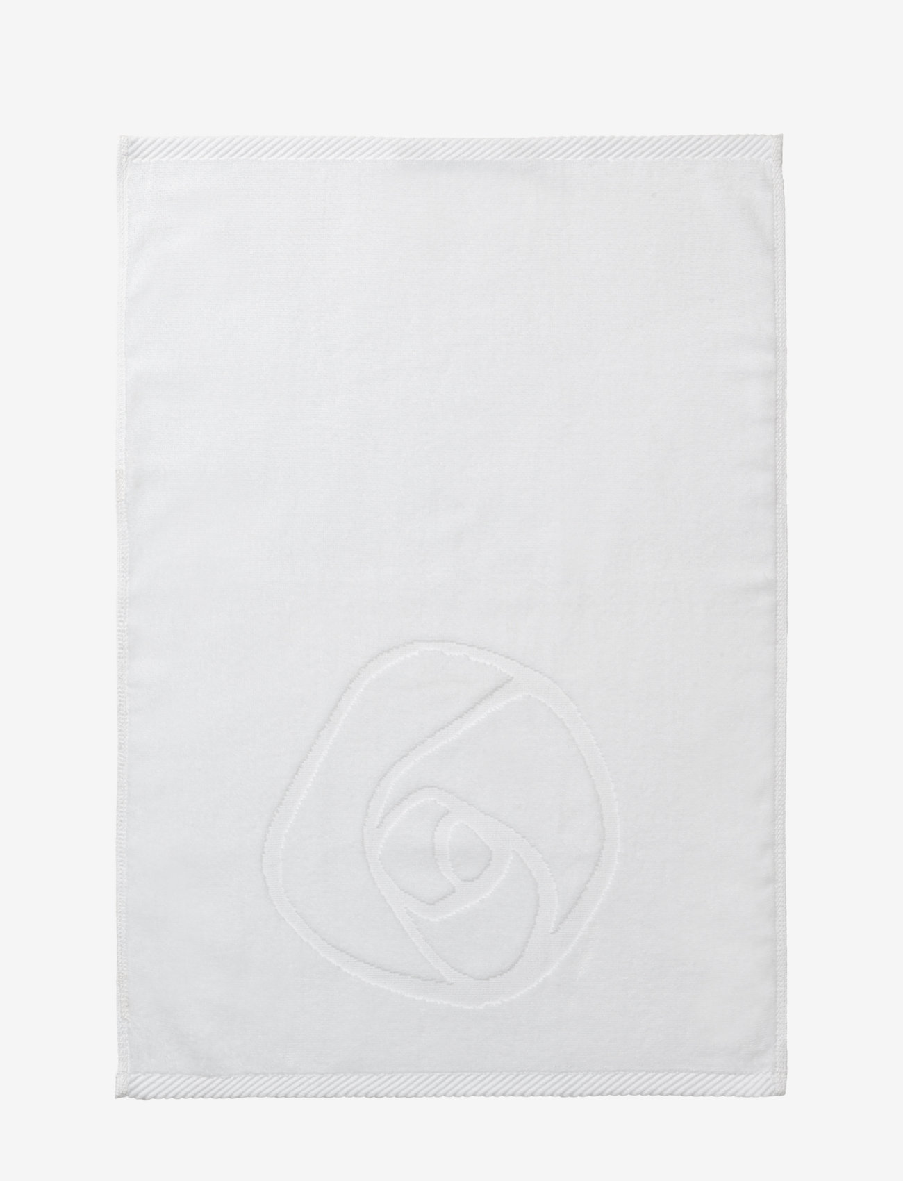 Rosemunde - towel 45x65cm - hand towels & bath towels - new white - 1