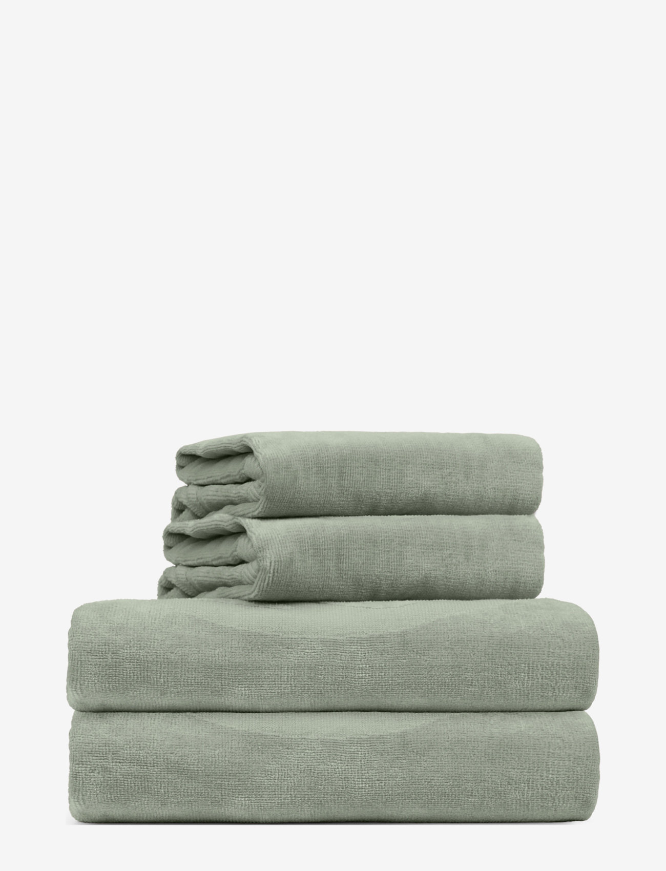 Rosemunde - towel 45x65cm - hand towels & bath towels - seagrass - 0