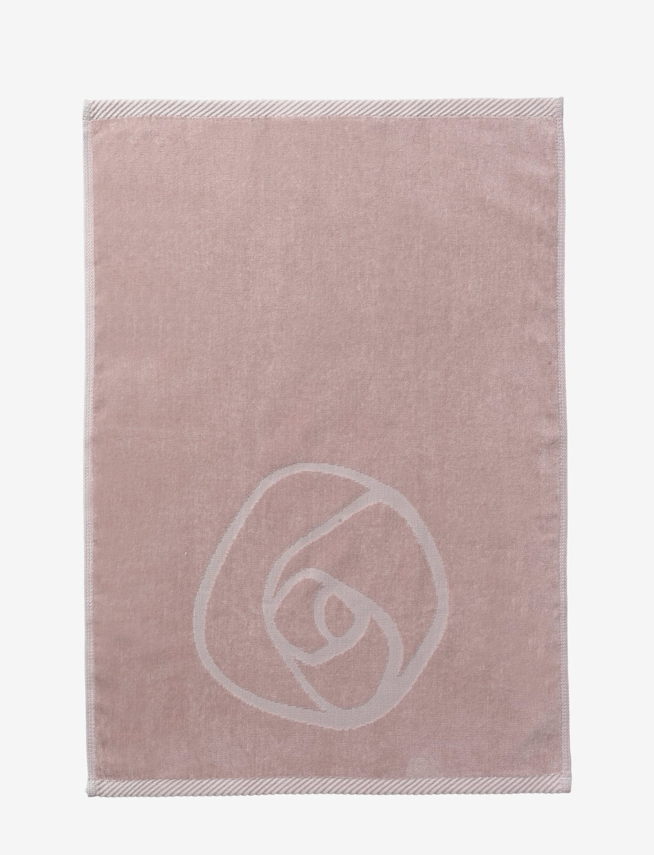 Rosemunde - towel 45x65cm - ręczniki kąpielowe - vintage powder - 1