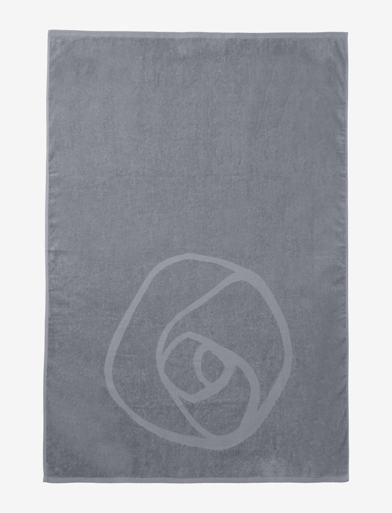 Rosemunde - towel 95x140cm - hand towels & bath towels - charcoal grey - 1
