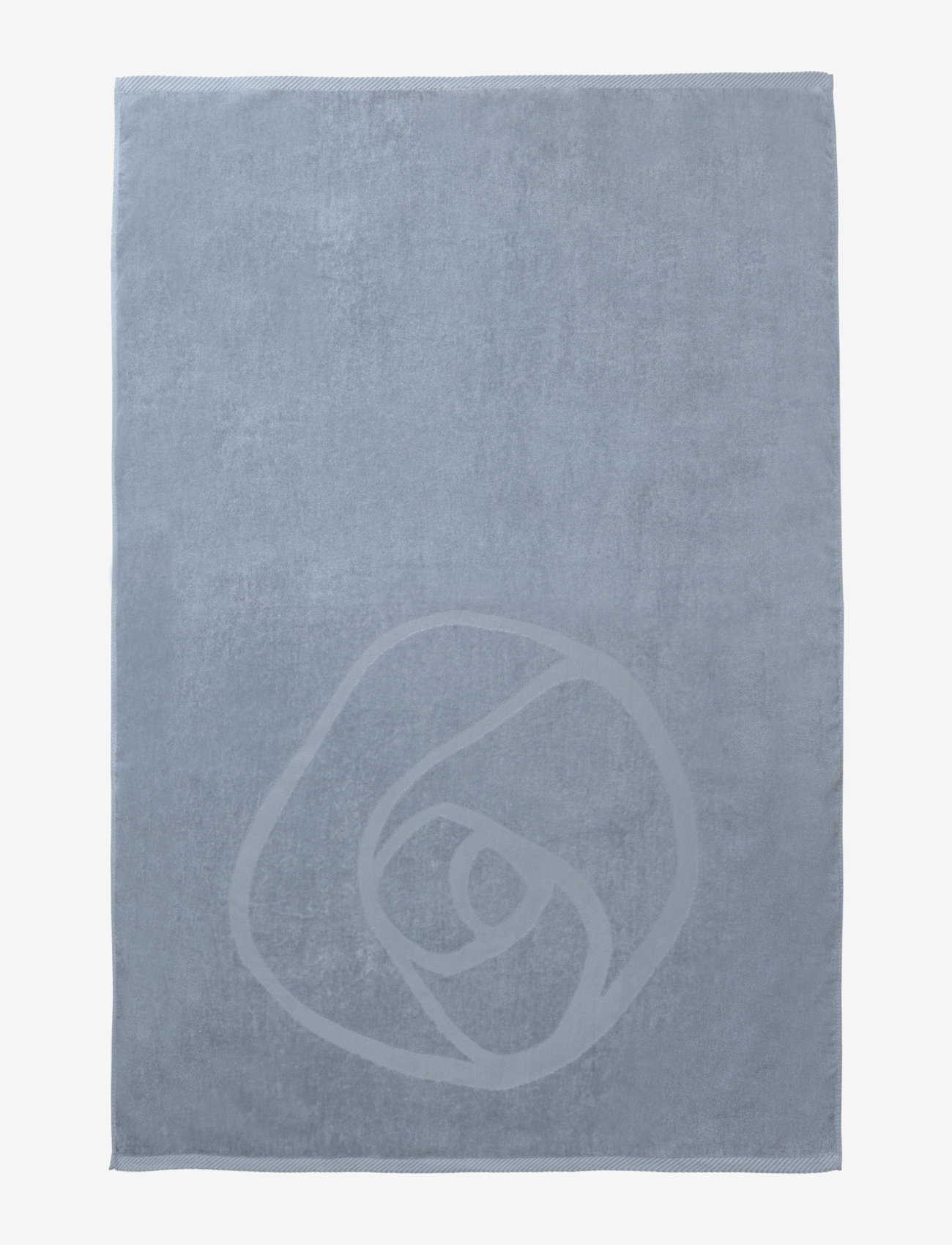 Rosemunde - towel 95x140cm - hand towels & bath towels - dusty blue - 1