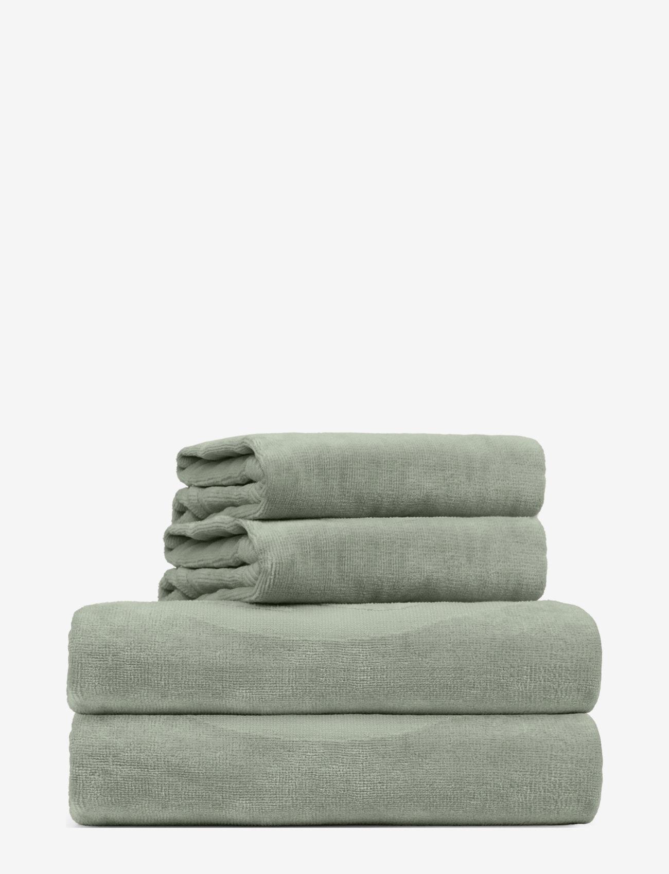 Rosemunde - towel 95x140cm - hand towels & bath towels - seagrass - 0