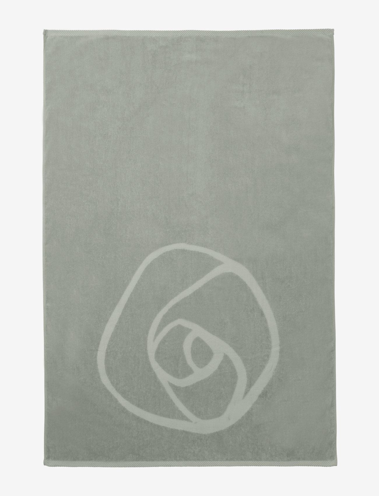 Rosemunde - towel 95x140cm - hand towels & bath towels - seagrass - 1