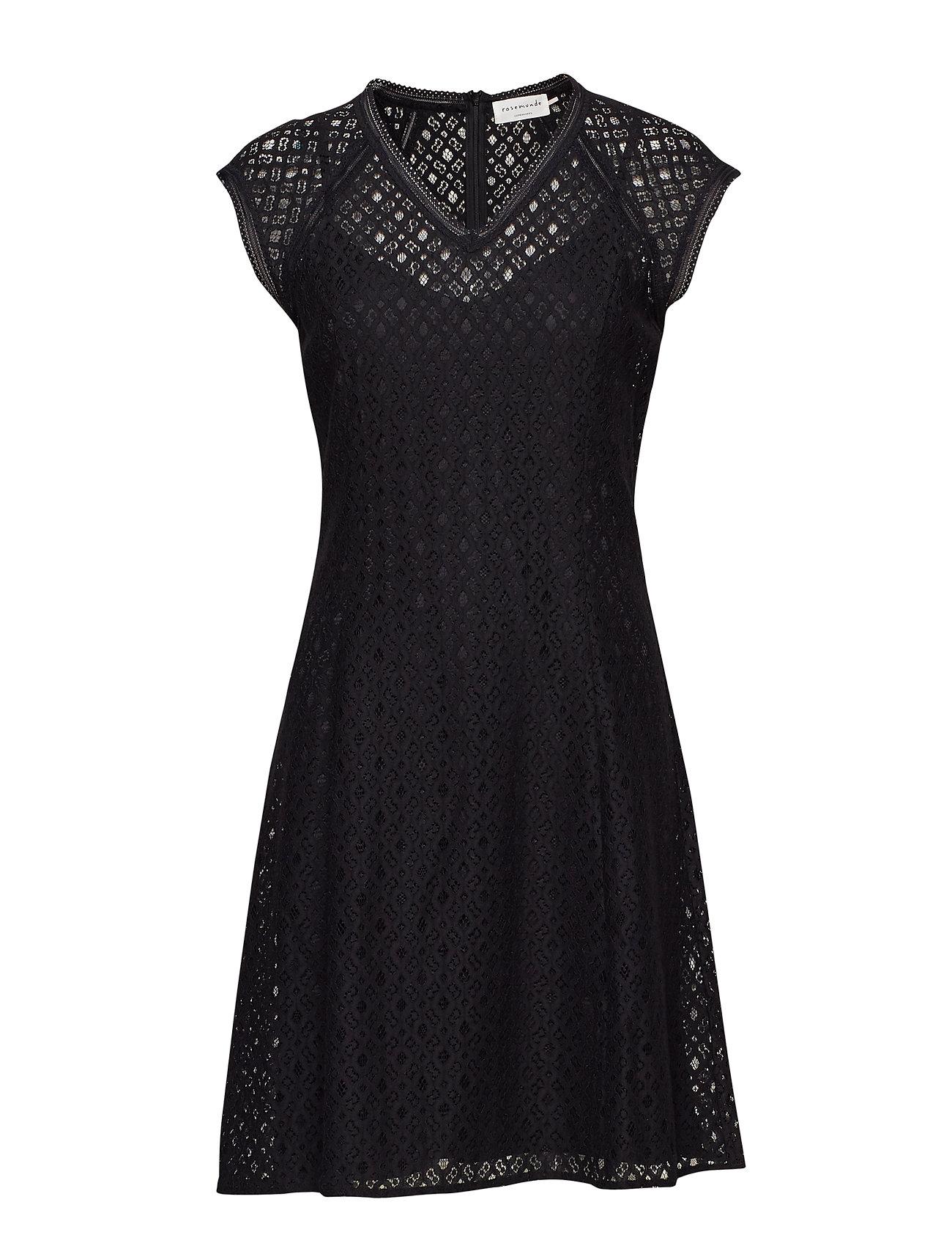 Rosemunde Dress ss - BLACK