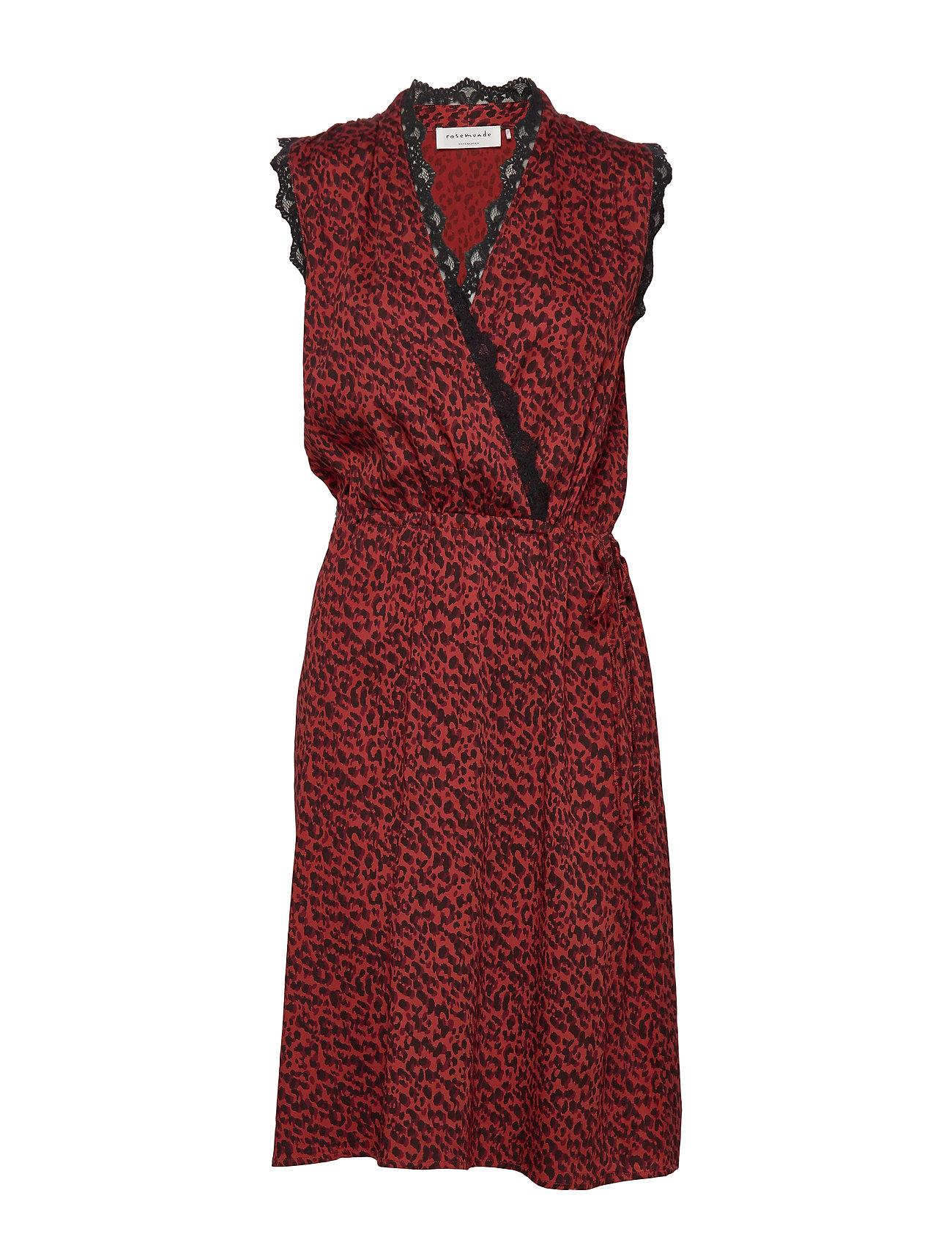 Rosemunde Dress - RED SHADOW LEOPARD PRINT