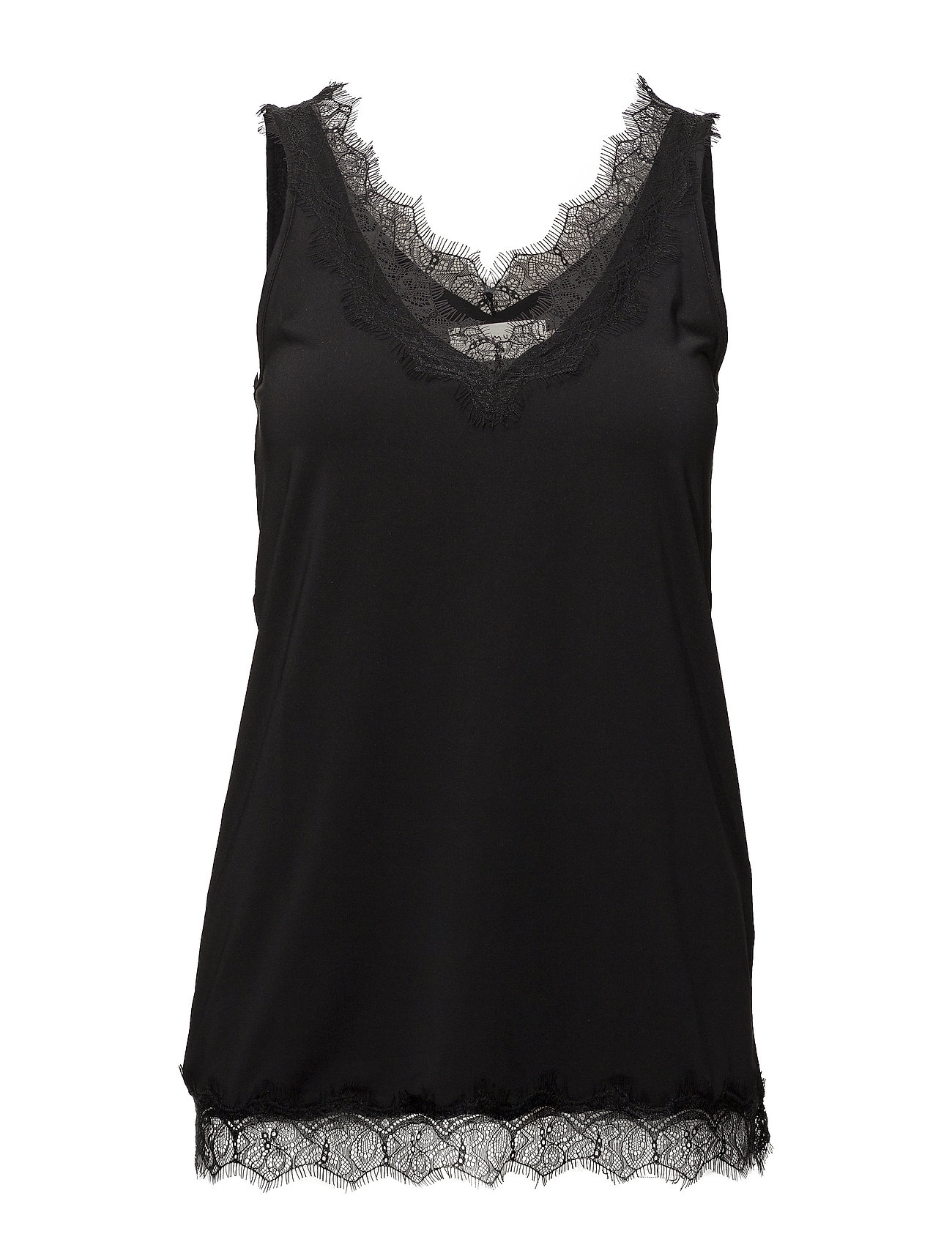 Rosemunde Top - BLACK