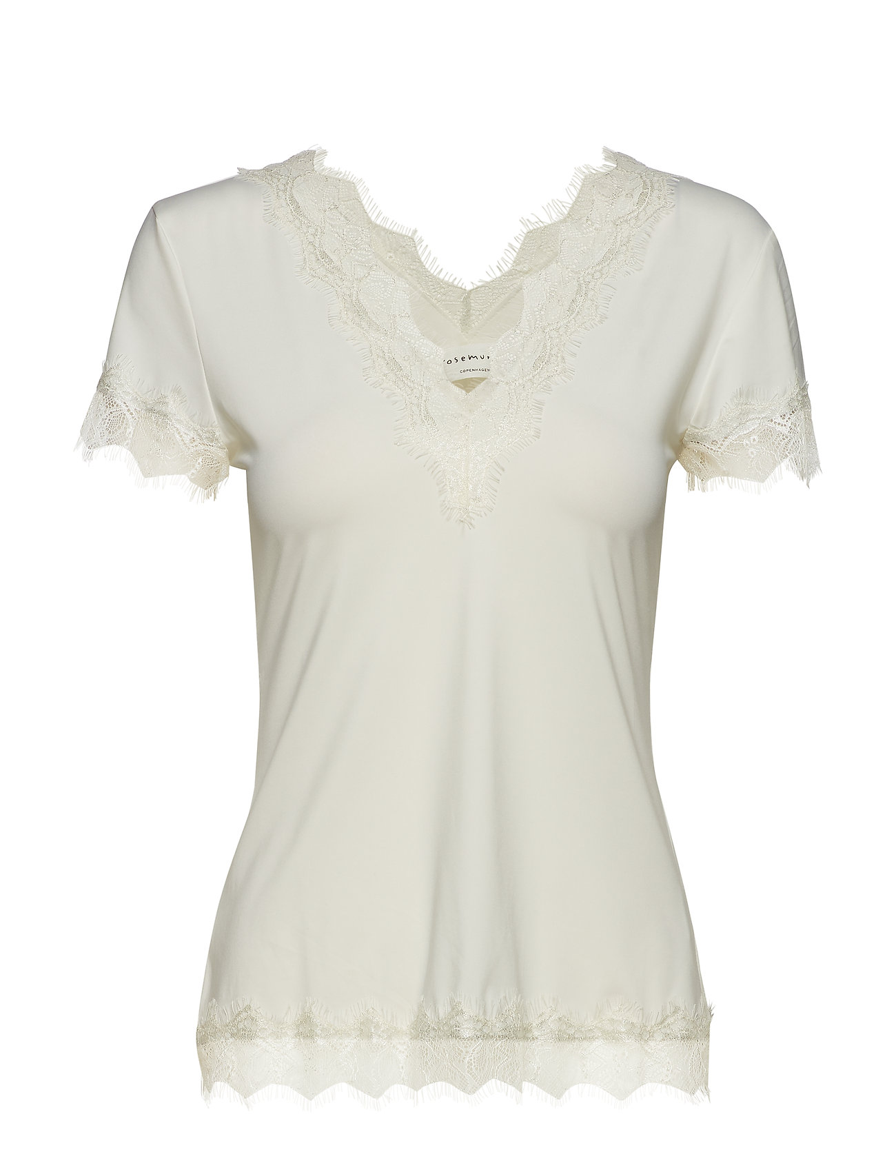 Rosemunde T-shirt ss - IVORY