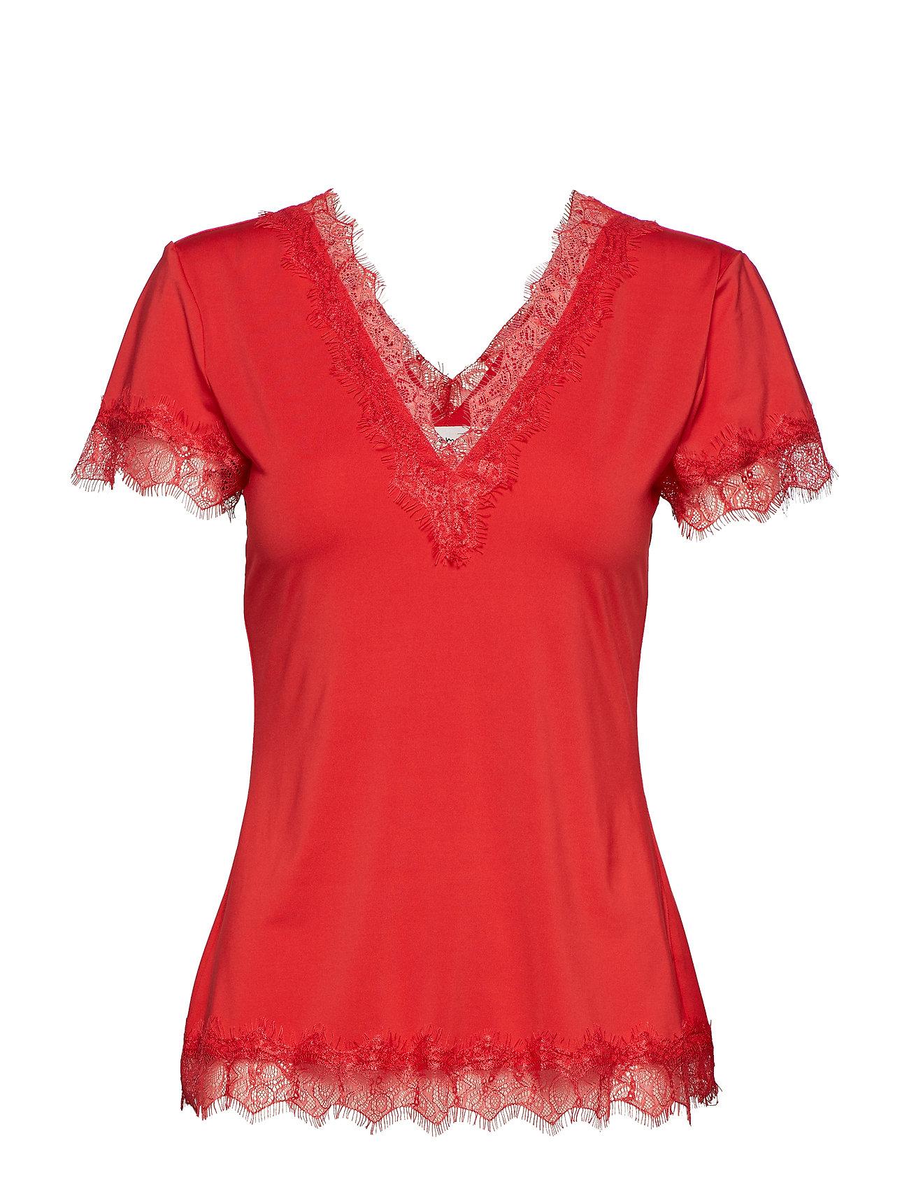 Rosemunde T-shirt ss - STRAWBERRY