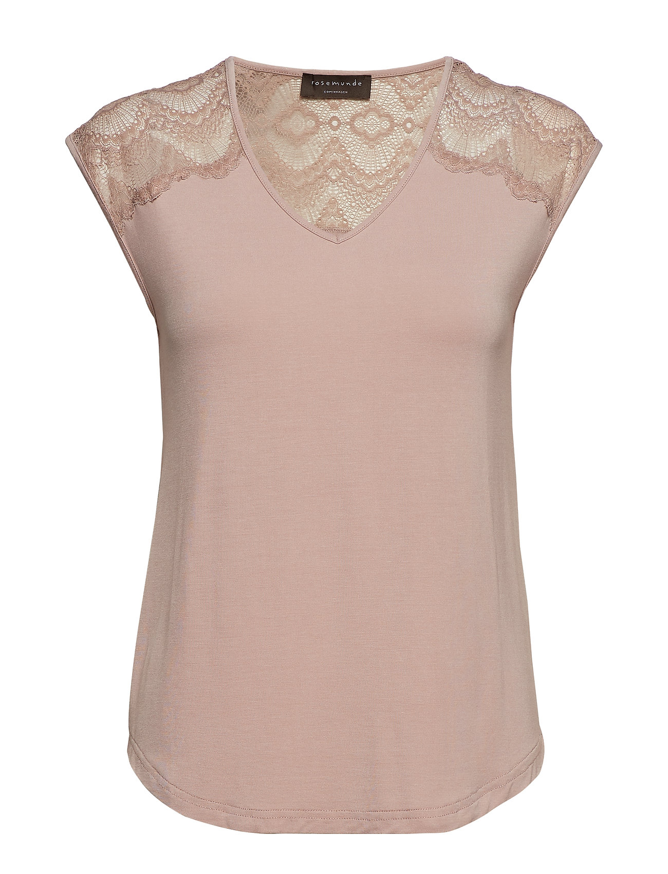 Rosemunde T-shirt ss - VINTAGE POWDER