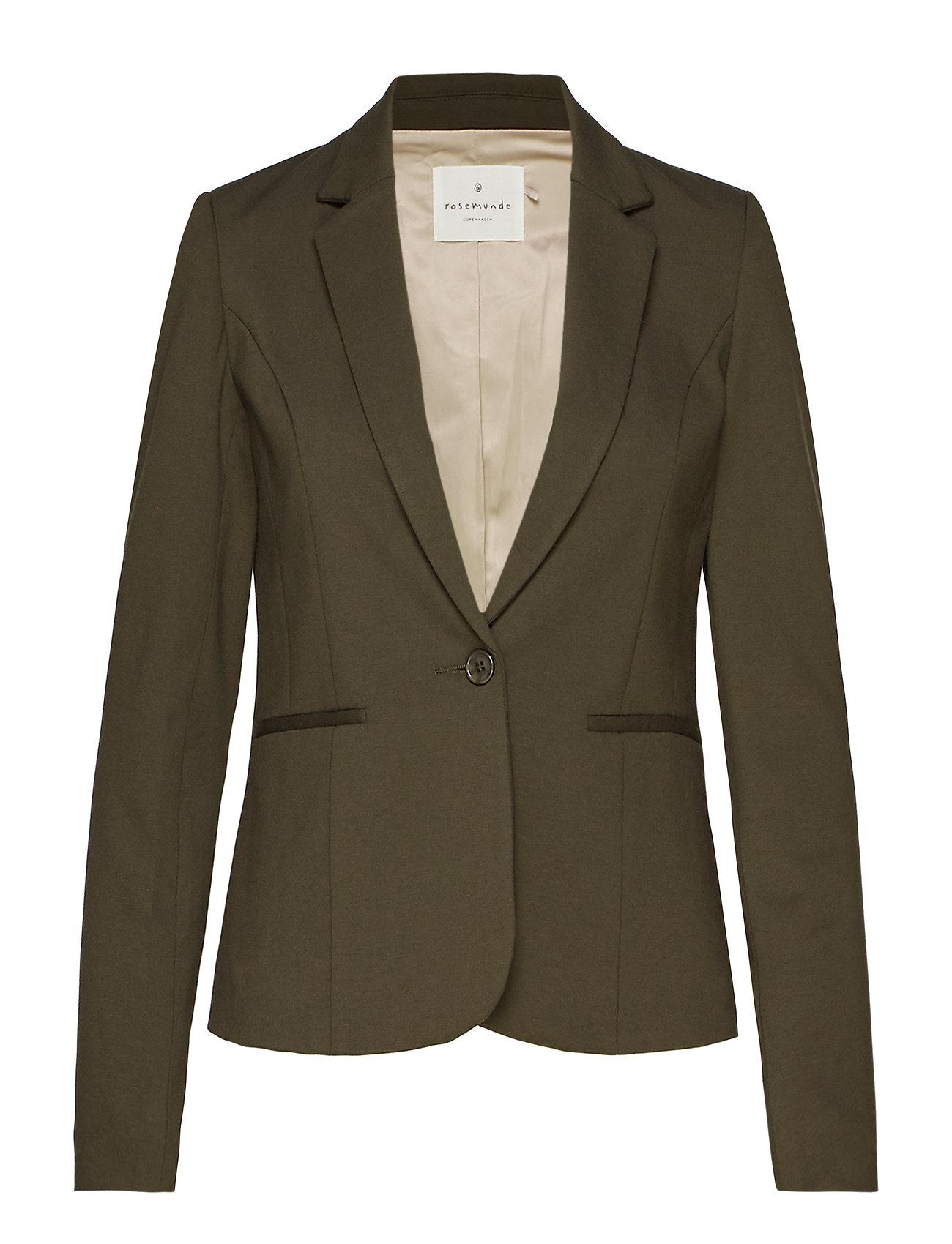 Rosemunde Jacket ls - BLACK GREEN