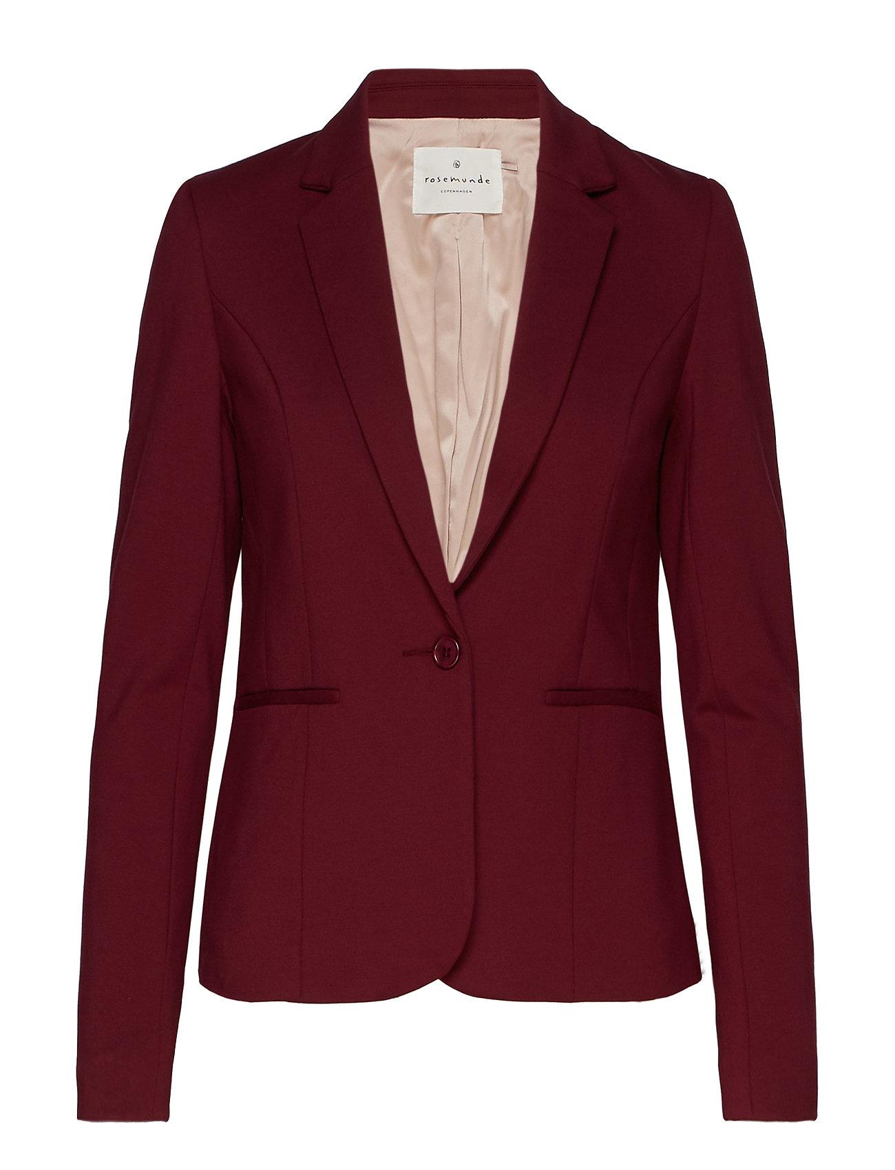 Rosemunde Jacket ls - SOFT WINE