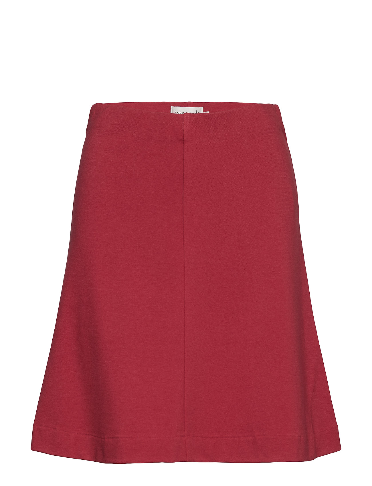 Rosemunde Skirt - SCARLET RED