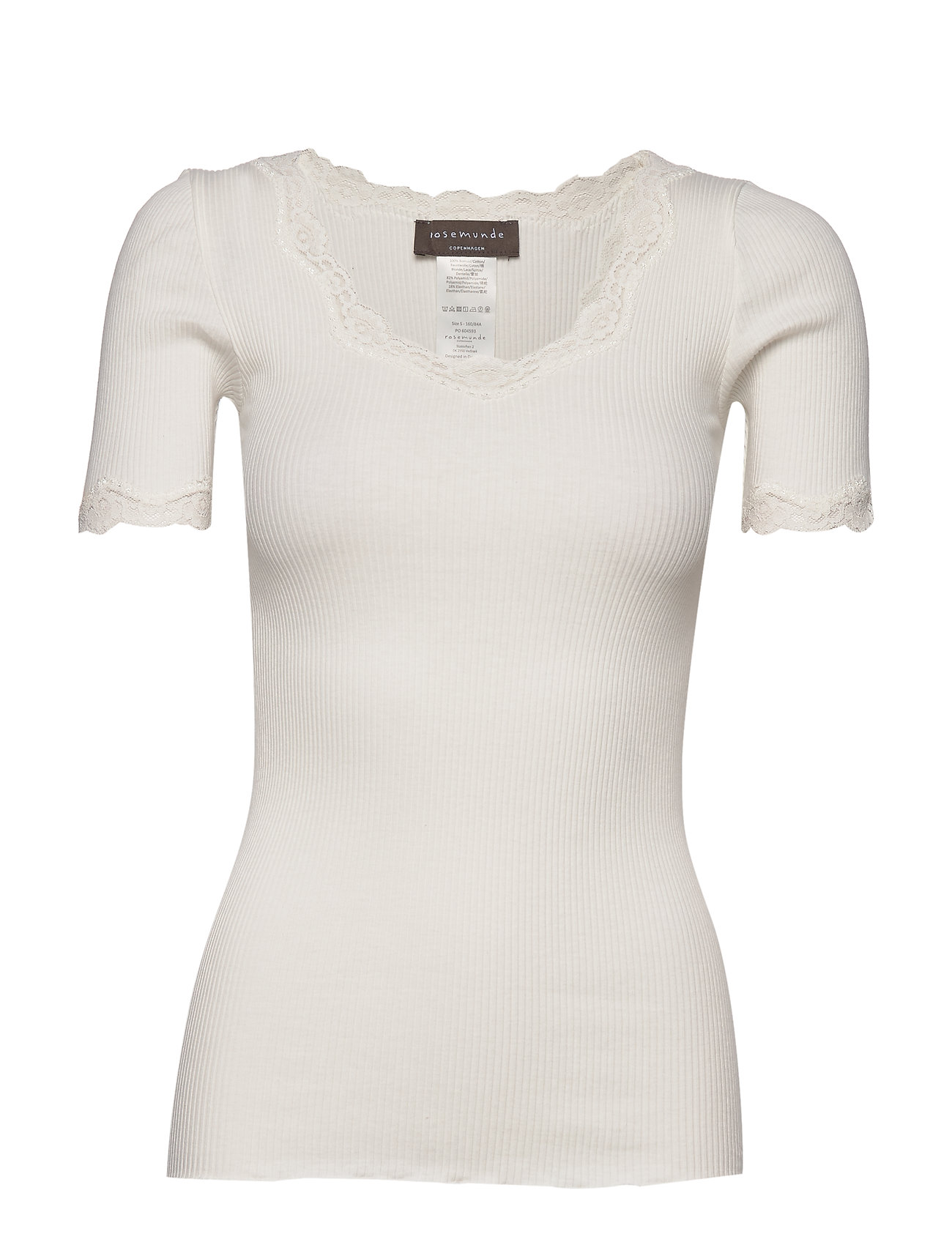 Rosemunde Organic T-shirt Regular Ss W/ Revv - T-shirts & Toppar
