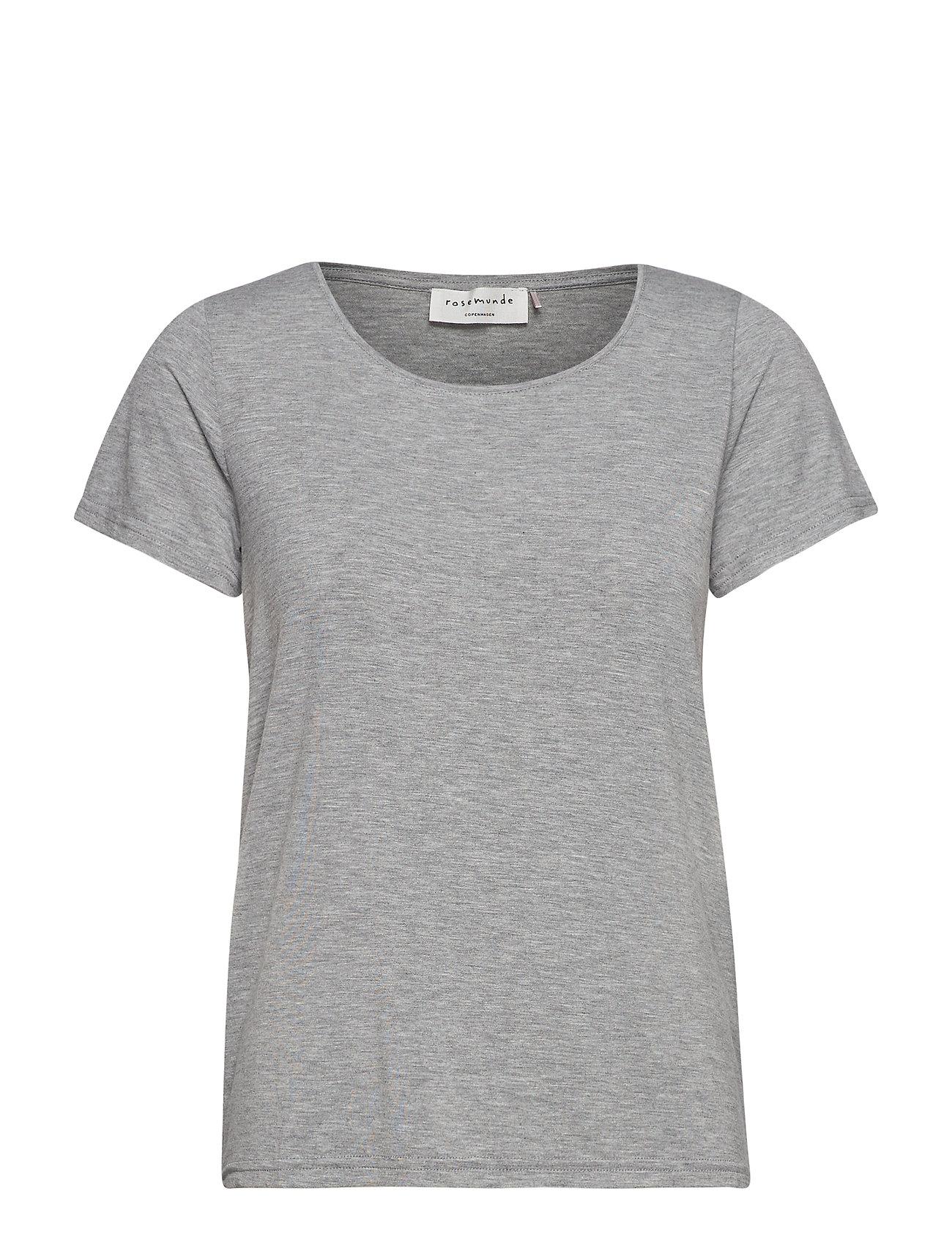 Rosemunde T-shirt ss - LIGHT GREY MELANGE