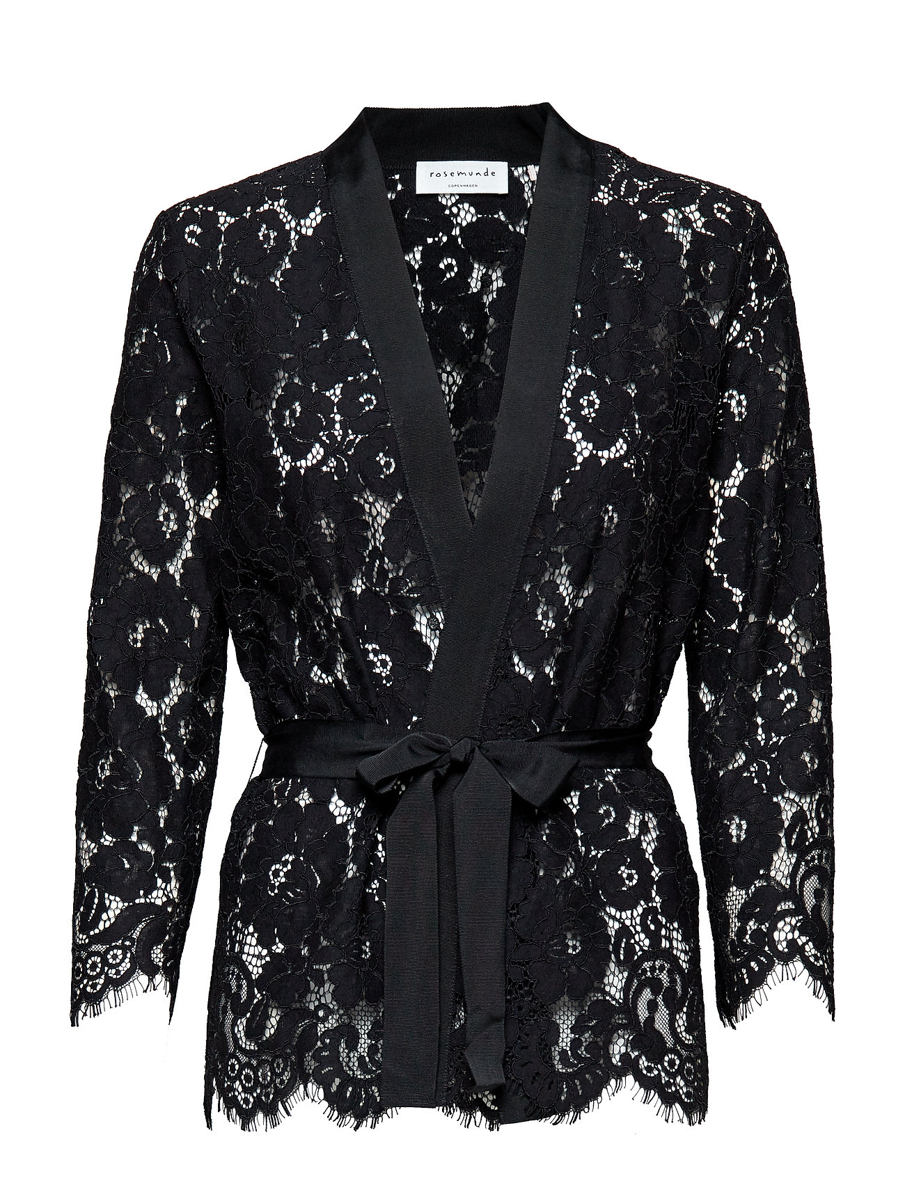 Rosemunde Jacket 3/4 ls - BLACK
