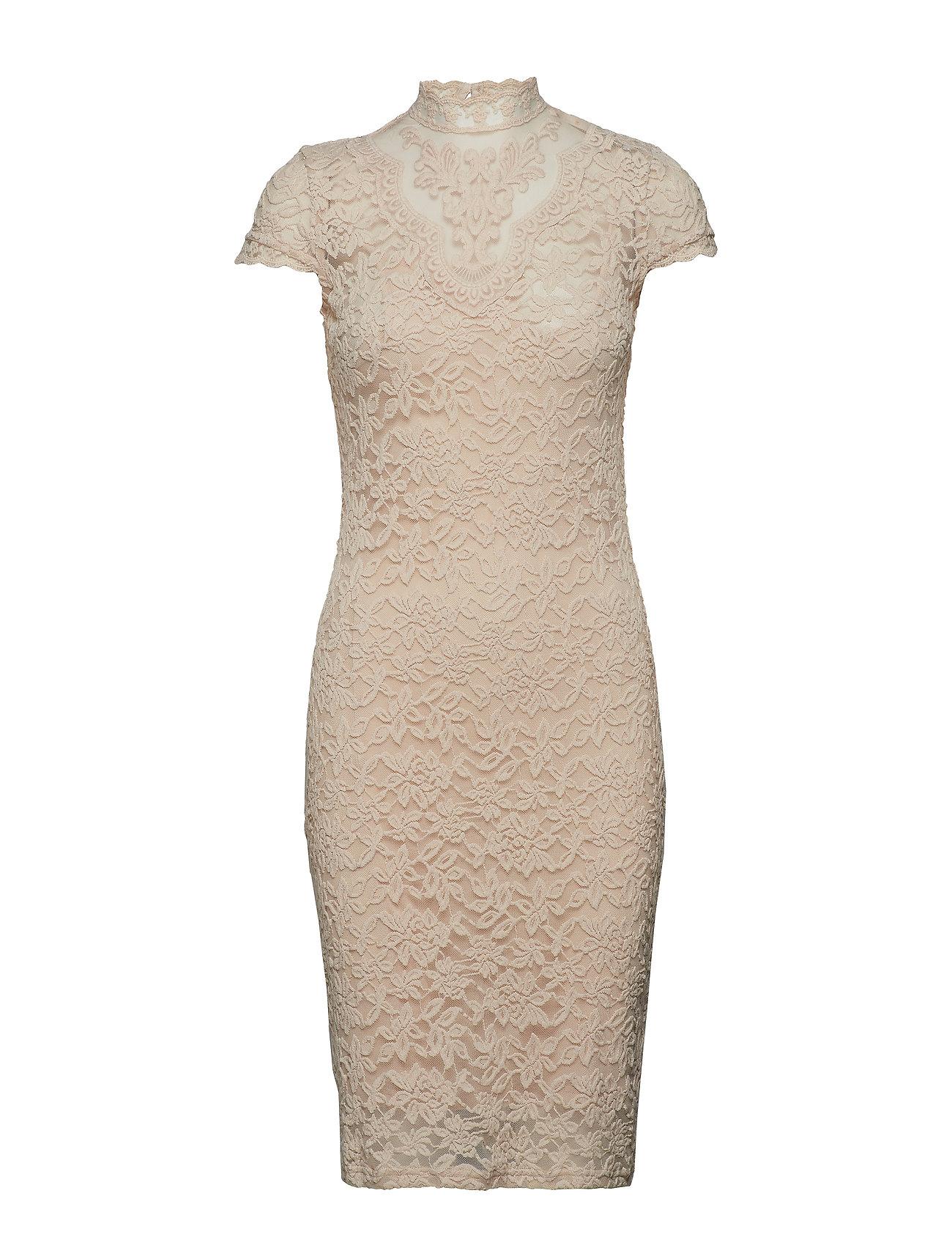 Rosemunde Dress ss - WHISPER BEIGE