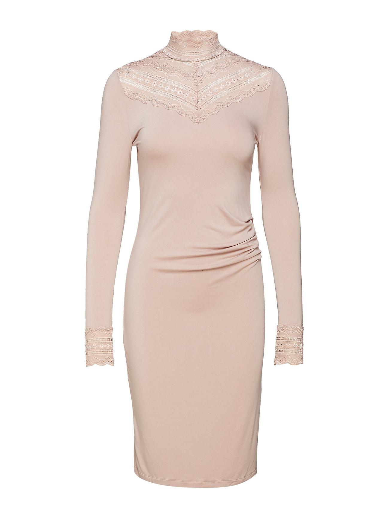 Rosemunde Dress ls - VINTAGE POWDER