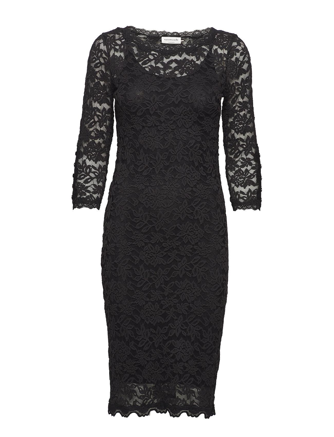 Rosemunde Dress 3/4s - BLACK