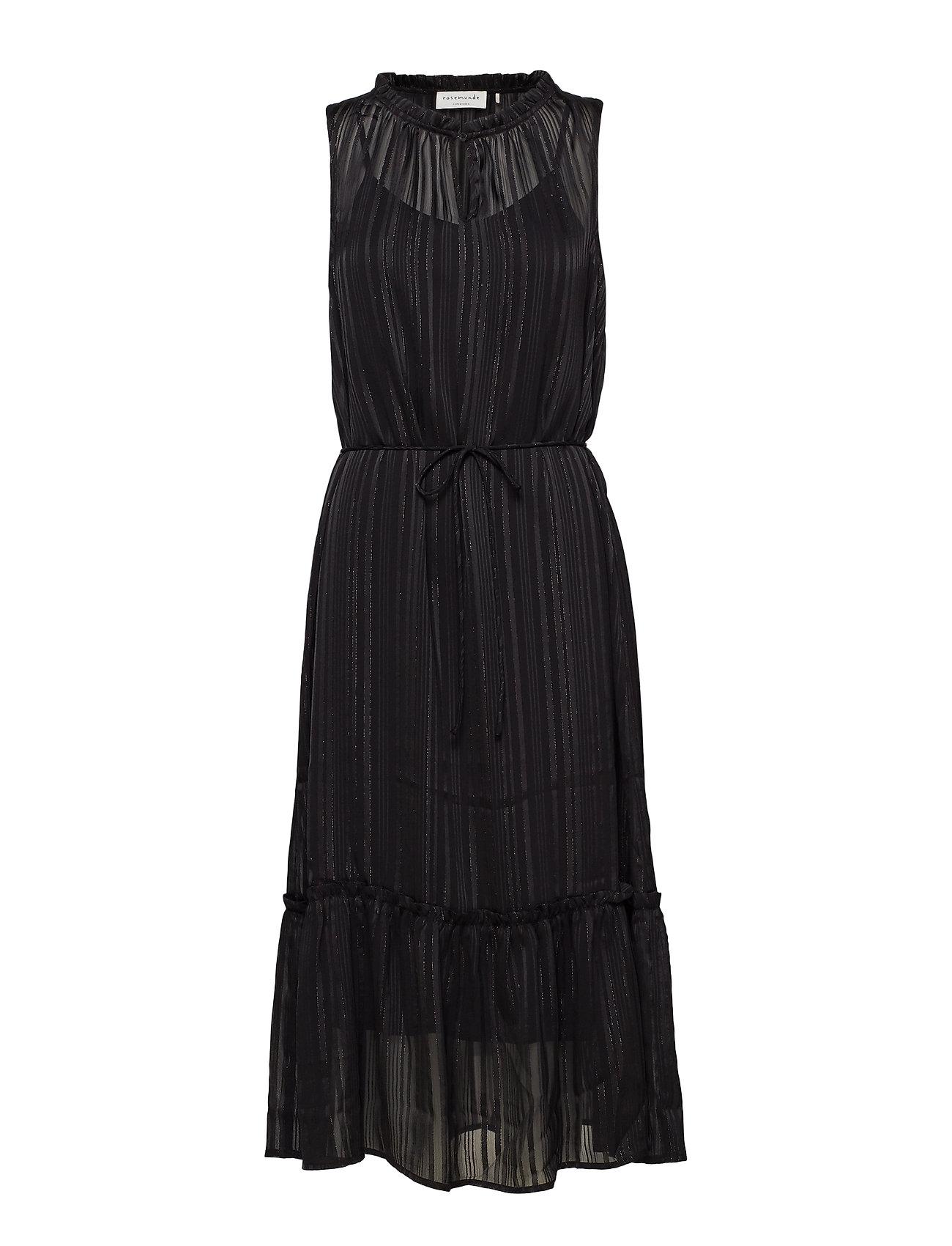 Rosemunde Dress - BLACK