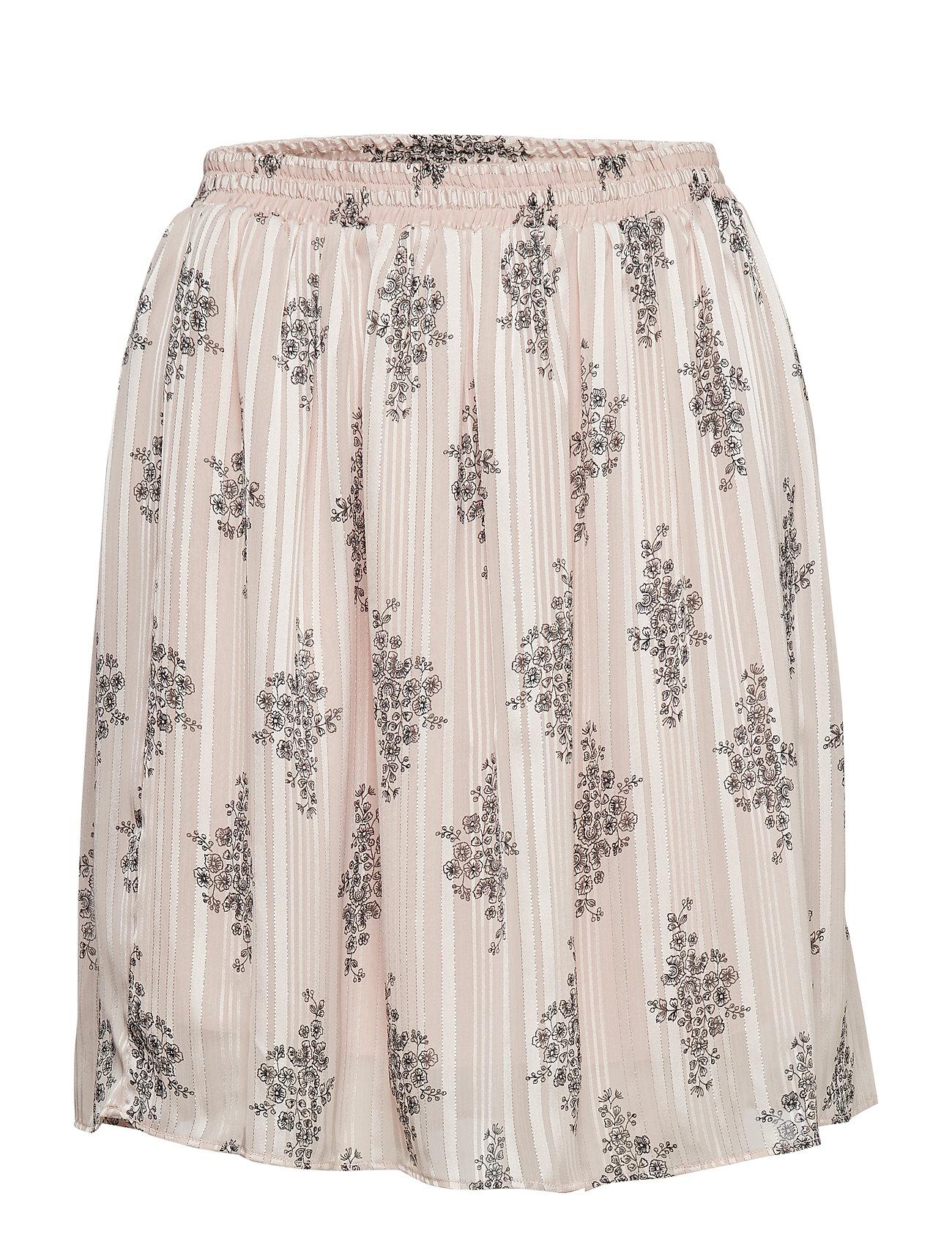 Rosemunde Skirt - VINTAGE POWDER FLOWER PRINT