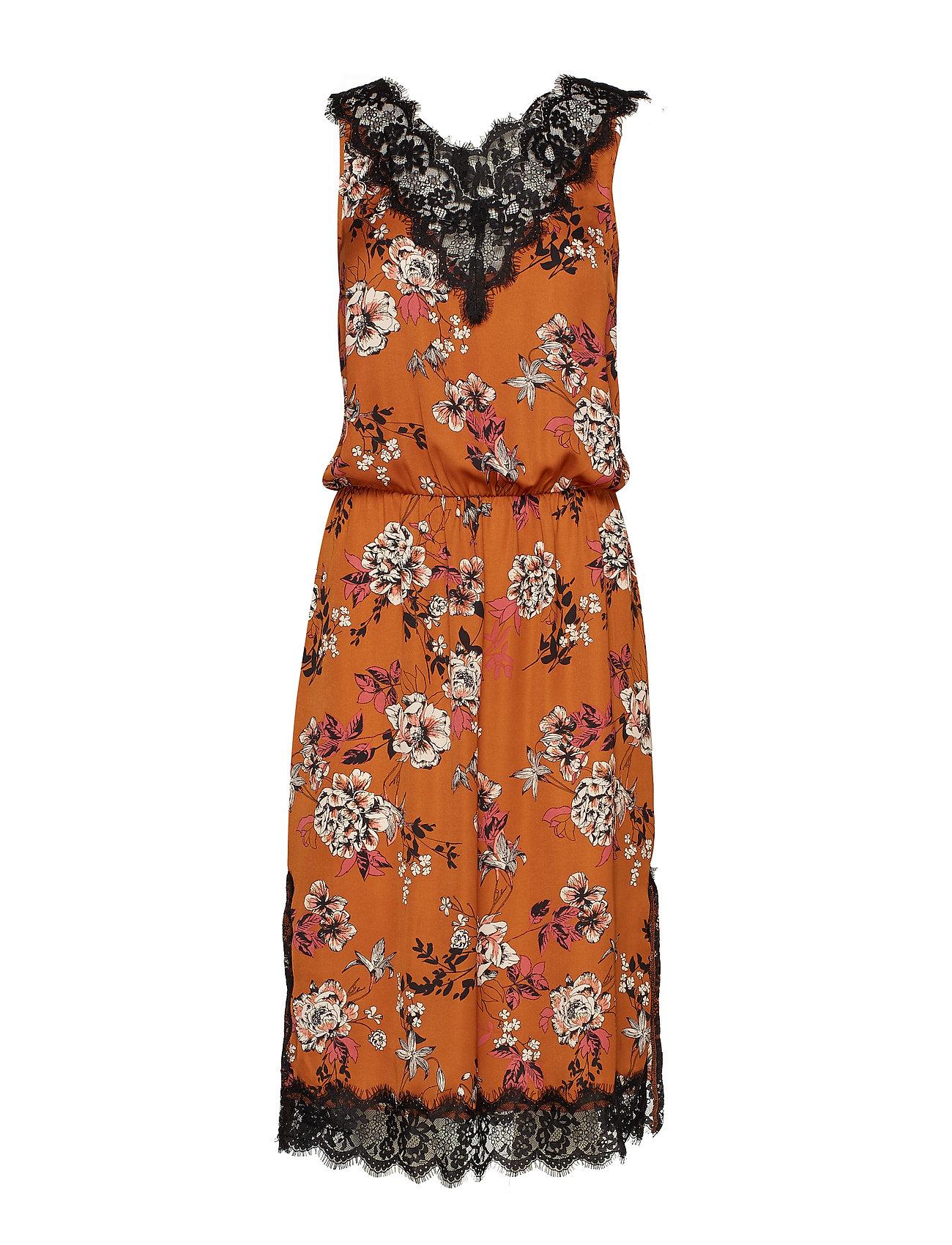 Rosemunde Dress - MOCHA BLOSSOM PRINT