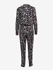Rosemunde - Jumpsuit ss - haalarit - wild blue blossom print - 1