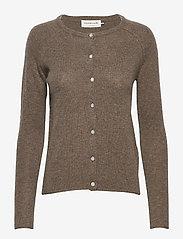 Wool & cashmere cardigan - ATMOSPHERE MELANGE