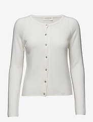 Wool & cashmere cardigan - IVORY